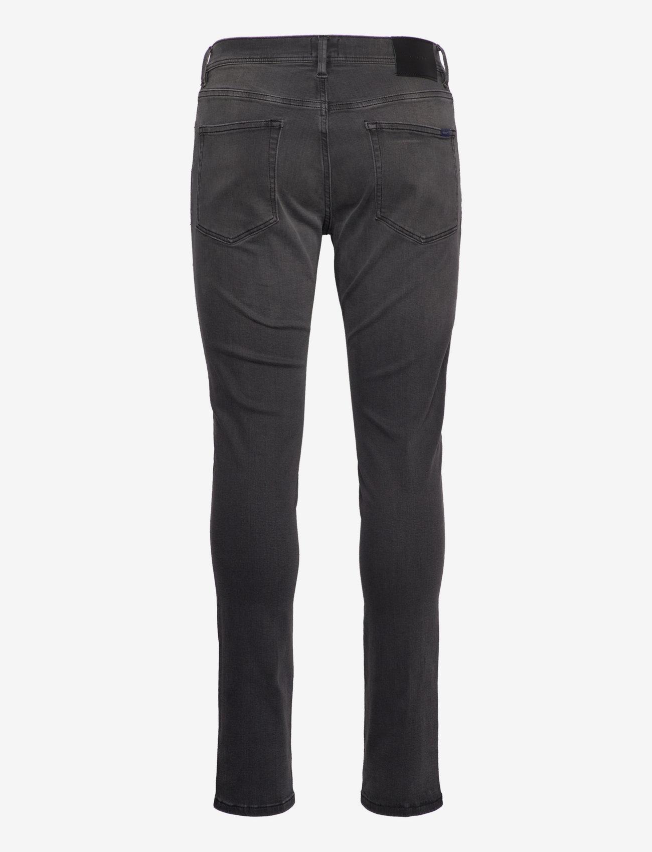 GANT D1. MAXEN ACTIVE-RECOVER BLK JEANS - Jeans BLACK WORN IN - Menn Klær