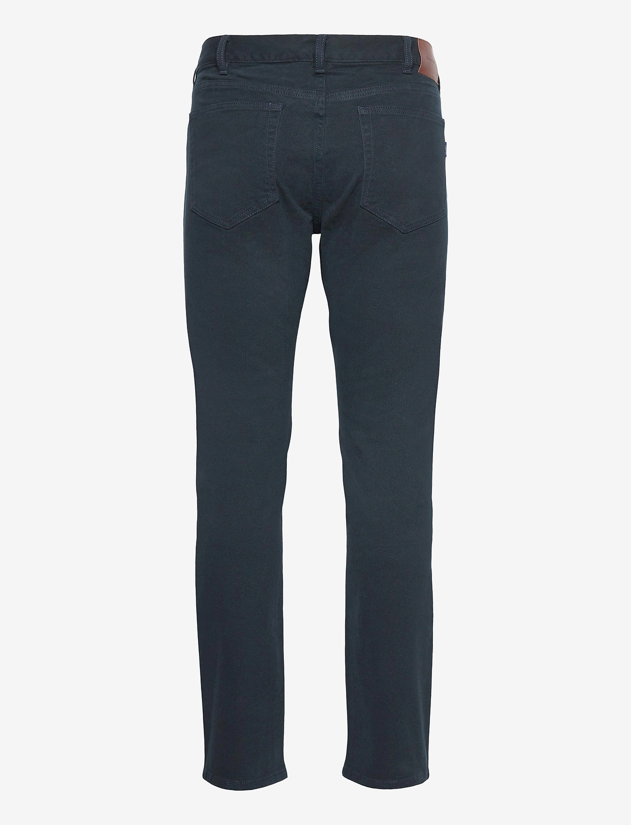 GANT - D2. REGULAR SOFT TWILL JEANS - regular jeans - navy - 1