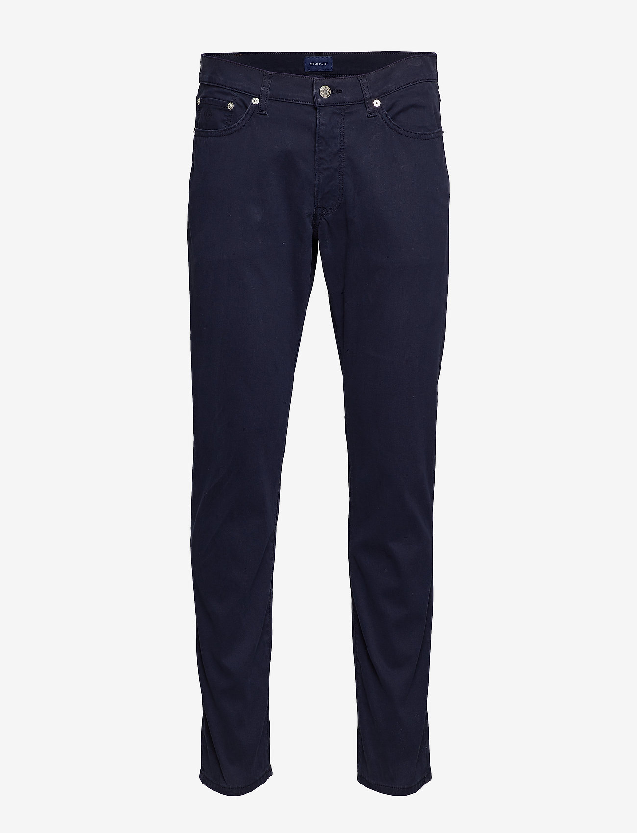 Gant - D1. SLIM BEDFORD JEANS - slim jeans - marine