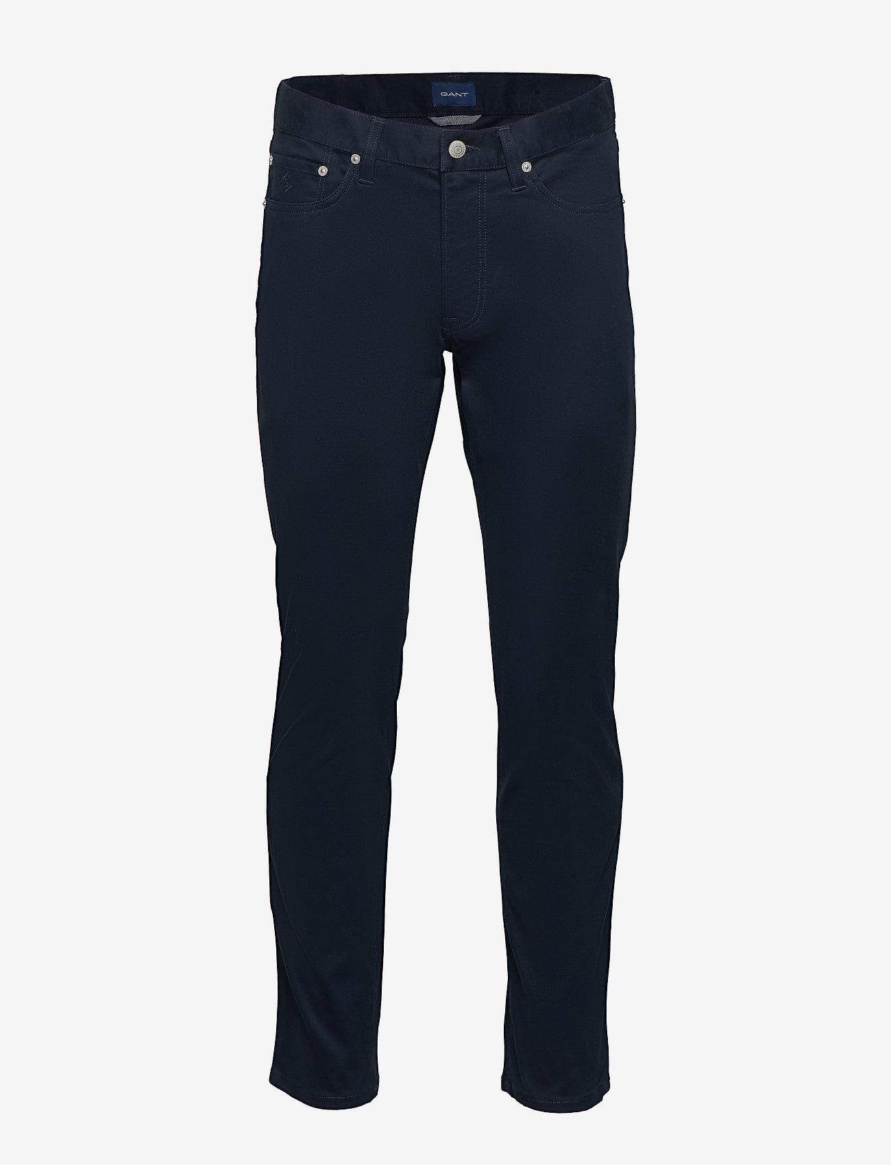 GANT - D1. TP SLIM BEDFORD JEANS - slim jeans - navy - 0