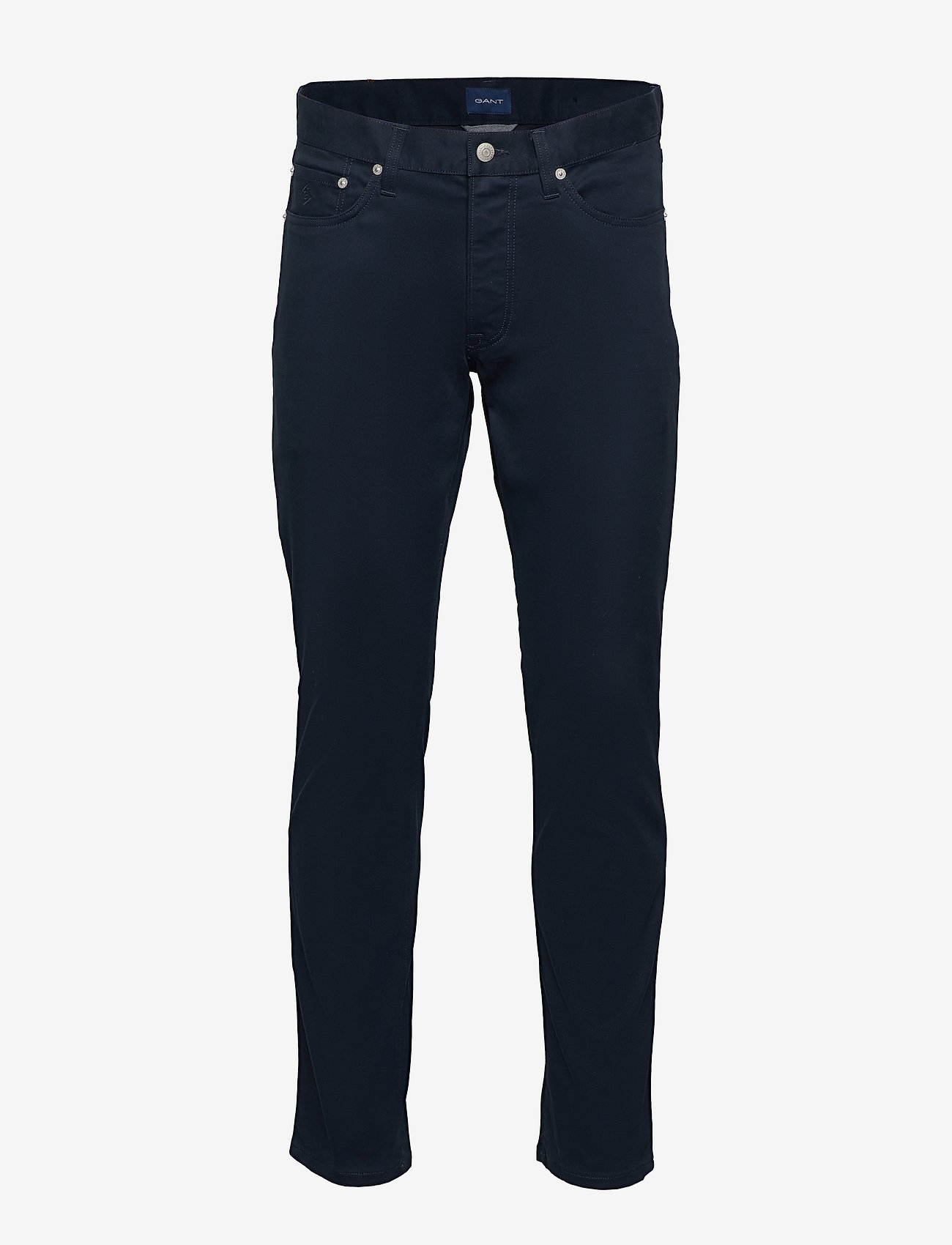 GANT - D1. TP SLIM BEDFORD JEANS - slim jeans - navy - 1