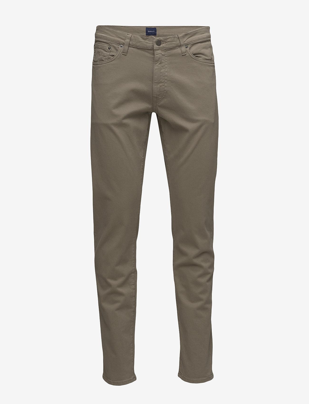 GANT - SLIM DESERT JEANS - slim jeans - desert brown - 0