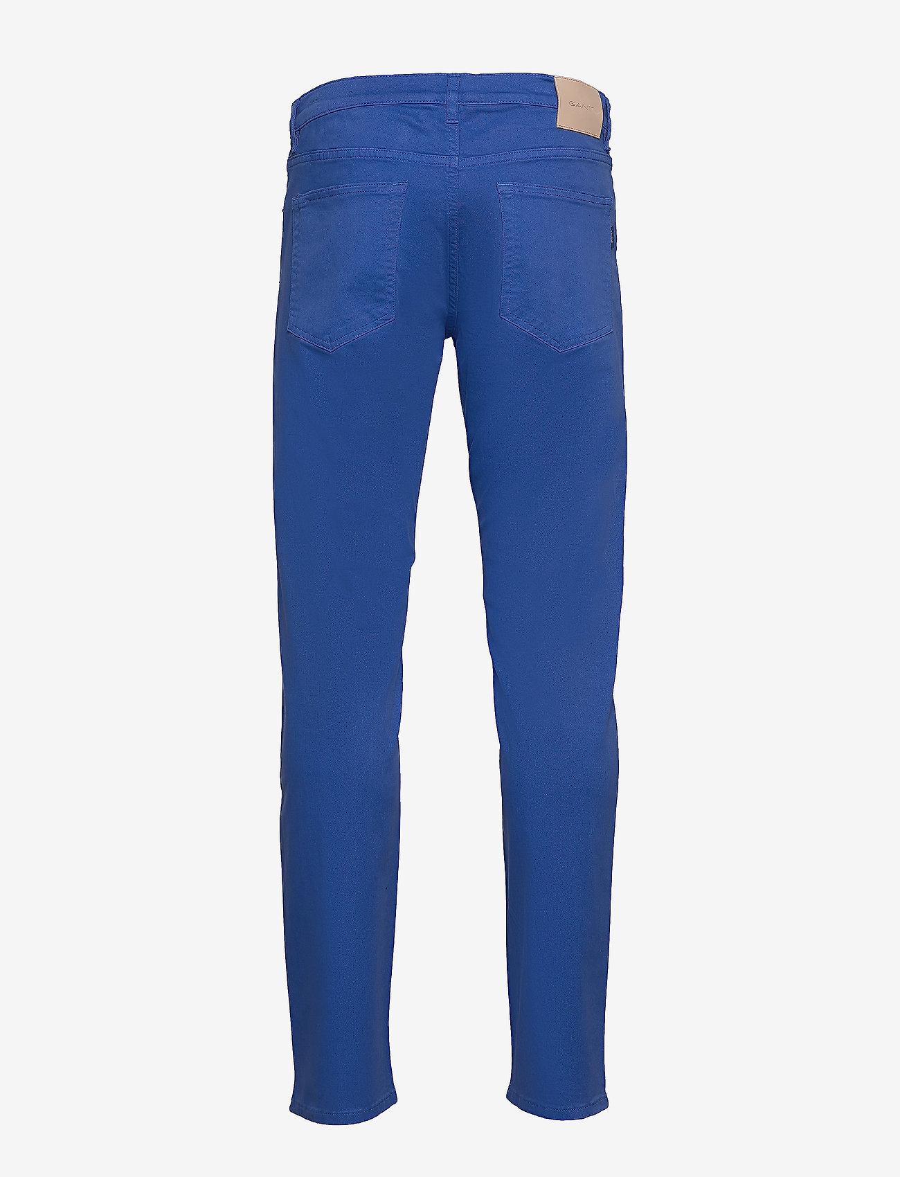 GANT - SLIM DESERT JEANS - slim jeans - nautical blue - 1