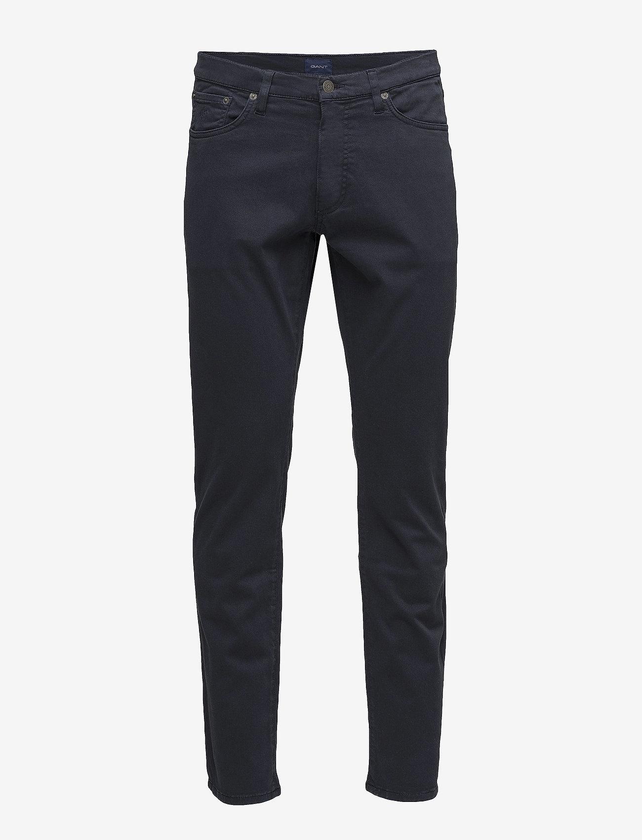 GANT - SLIM DESERT JEANS - slim jeans - navy - 0