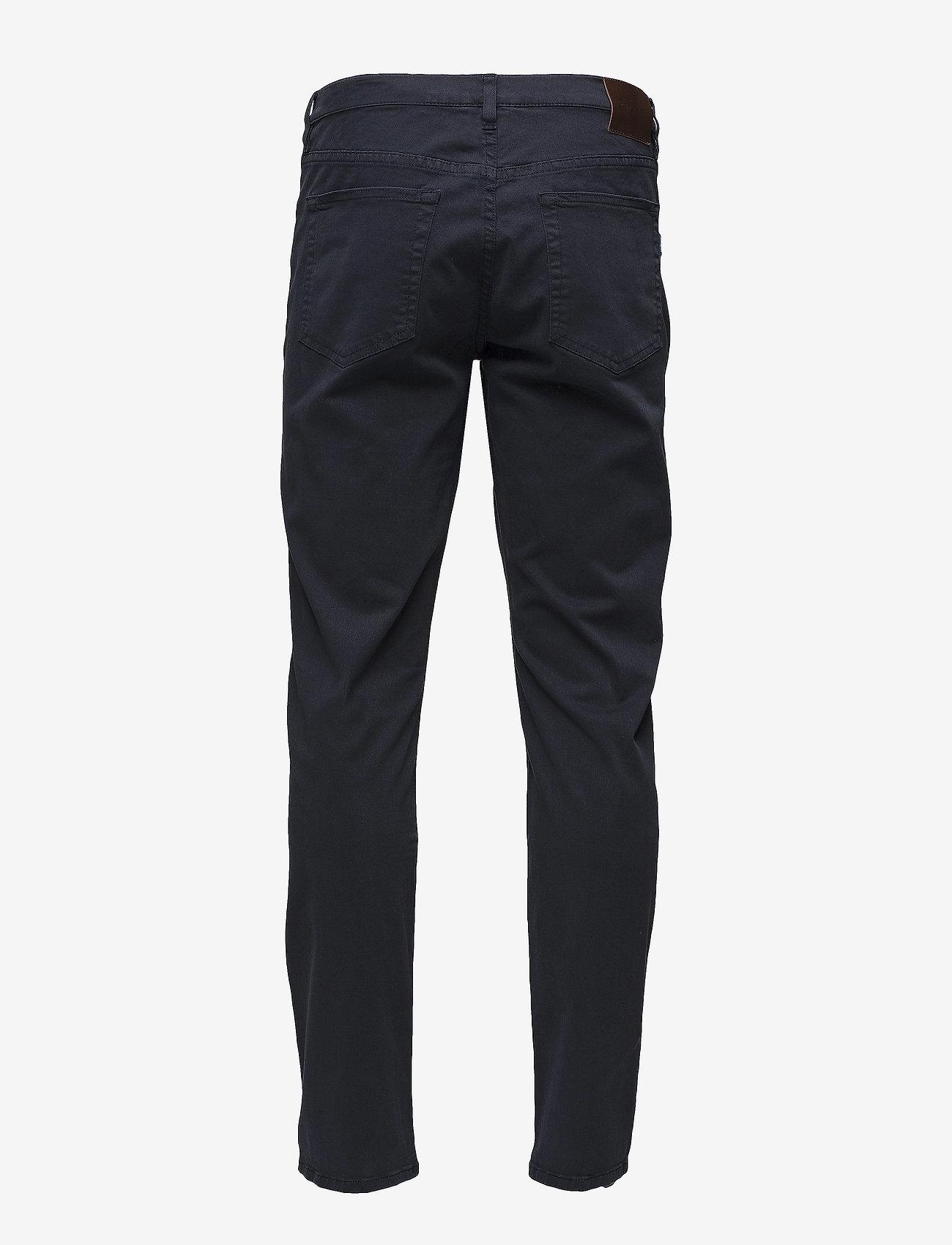 GANT - SLIM DESERT JEANS - slim jeans - navy - 1