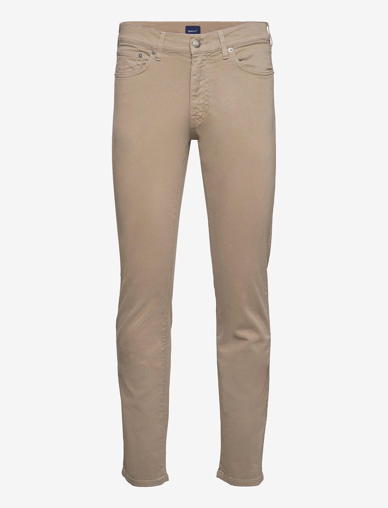 GANT - REGULAR DESERT JEANS - regular jeans - desert brown - 0