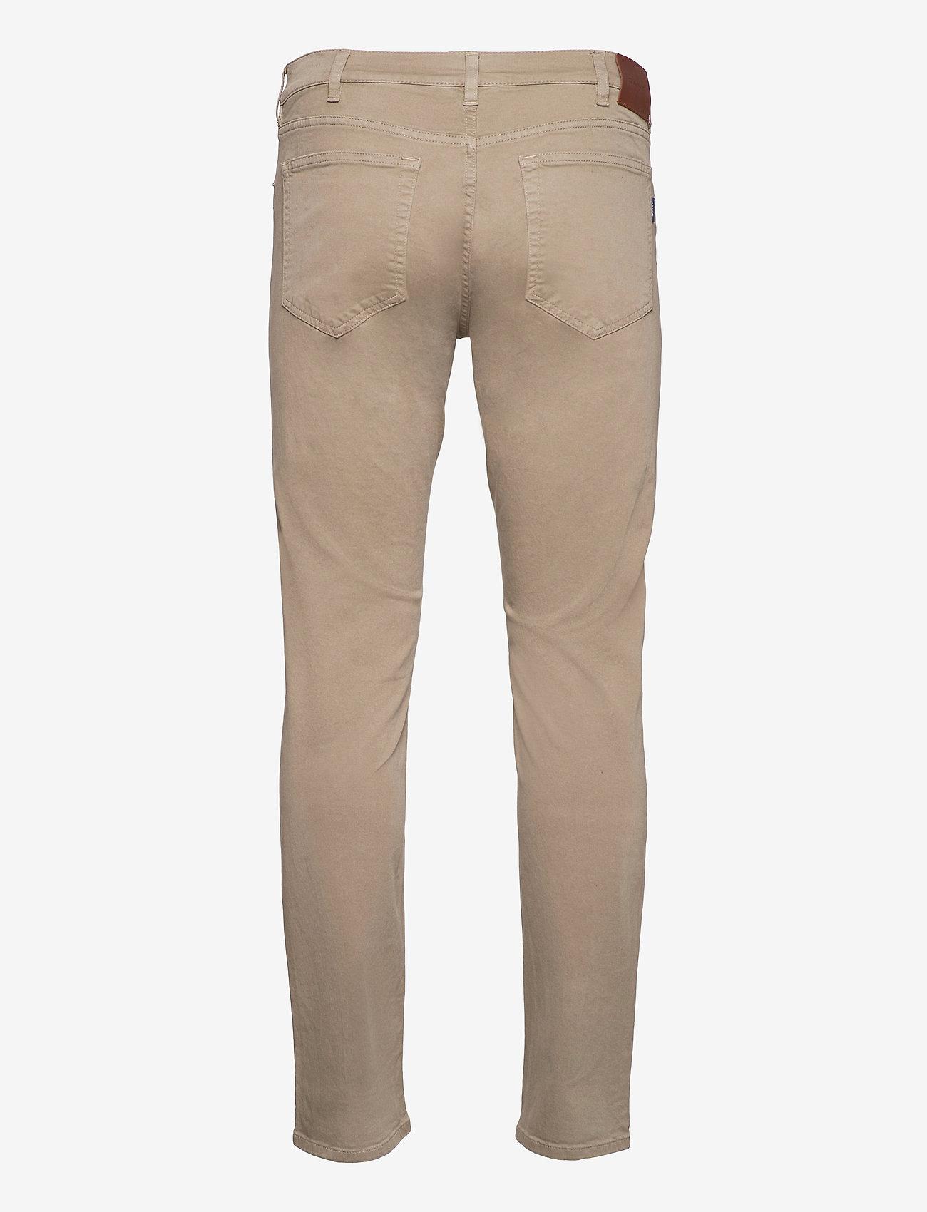 GANT - REGULAR DESERT JEANS - regular jeans - desert brown - 1
