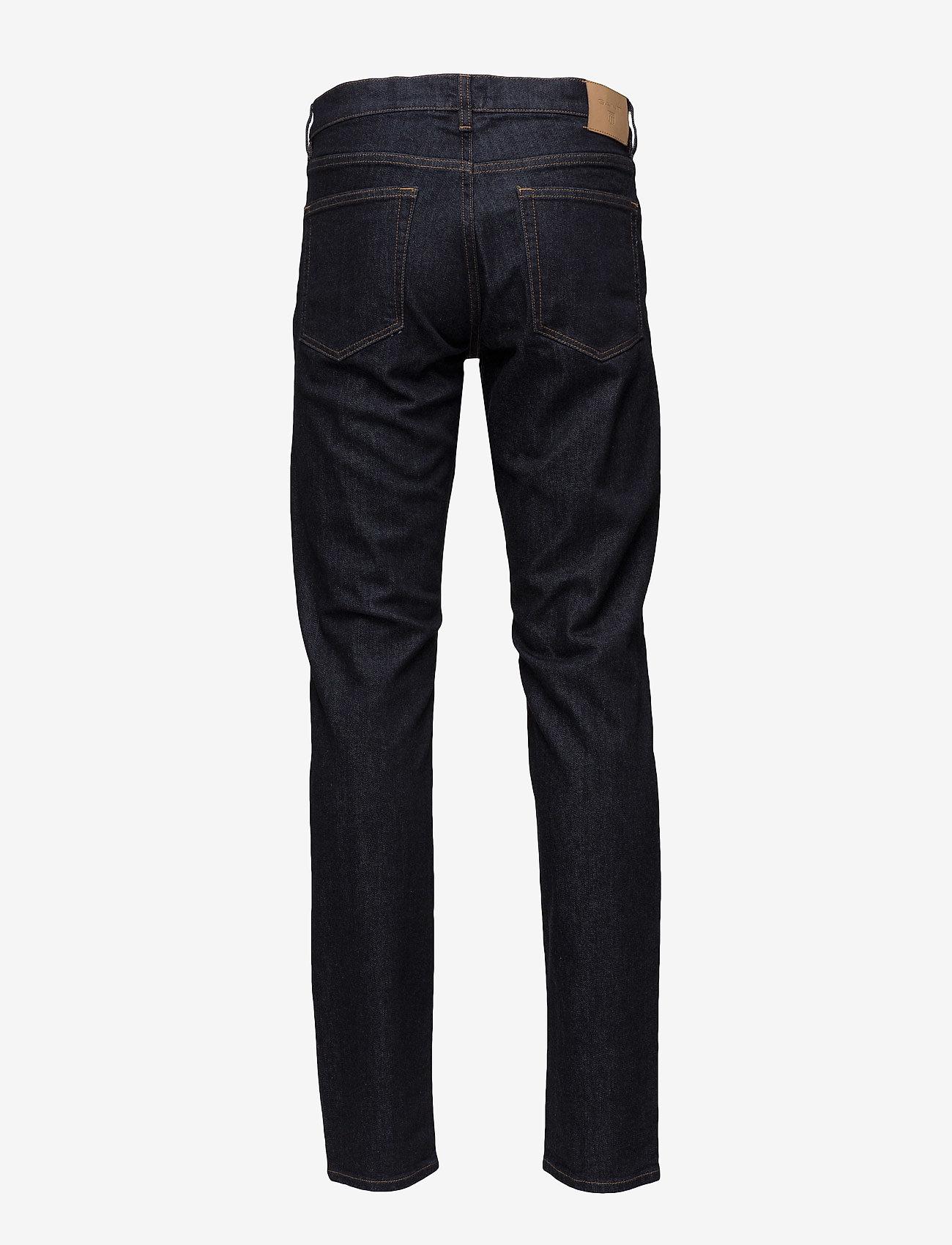 GANT - SLIM GANT JEANS - slim jeans - dark blue - 1