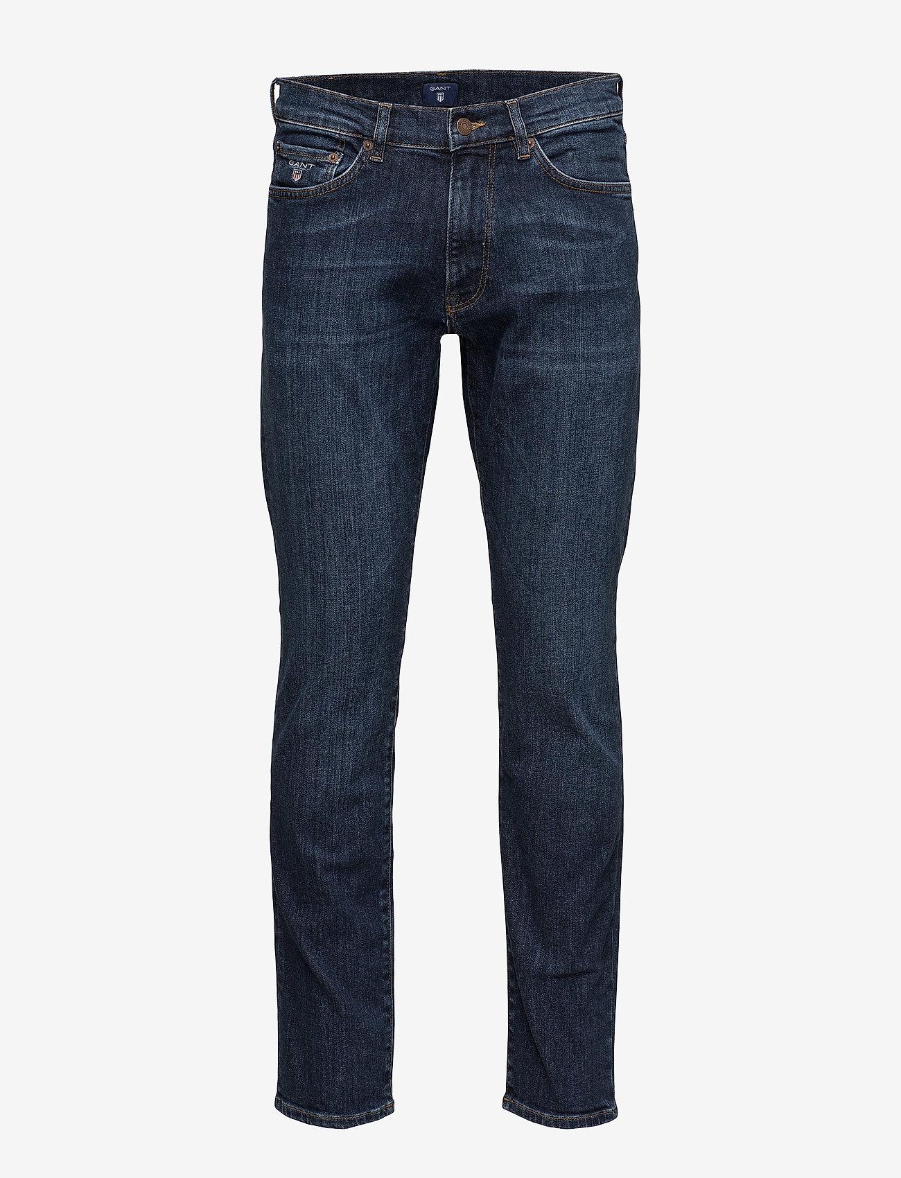 GANT - SLIM GANT JEANS - slim jeans - dark blue worn in - 0