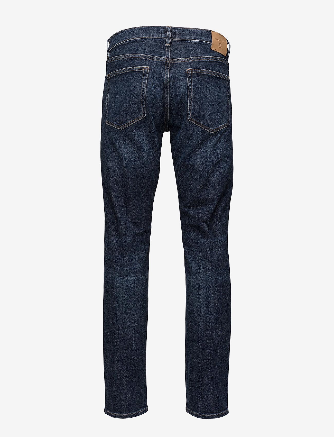 GANT - SLIM GANT JEANS - slim jeans - dark blue worn in - 1
