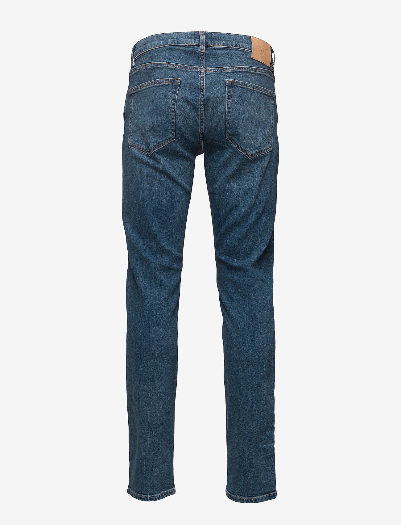 GANT - SLIM GANT JEANS - slim jeans - mid blue worn in - 1