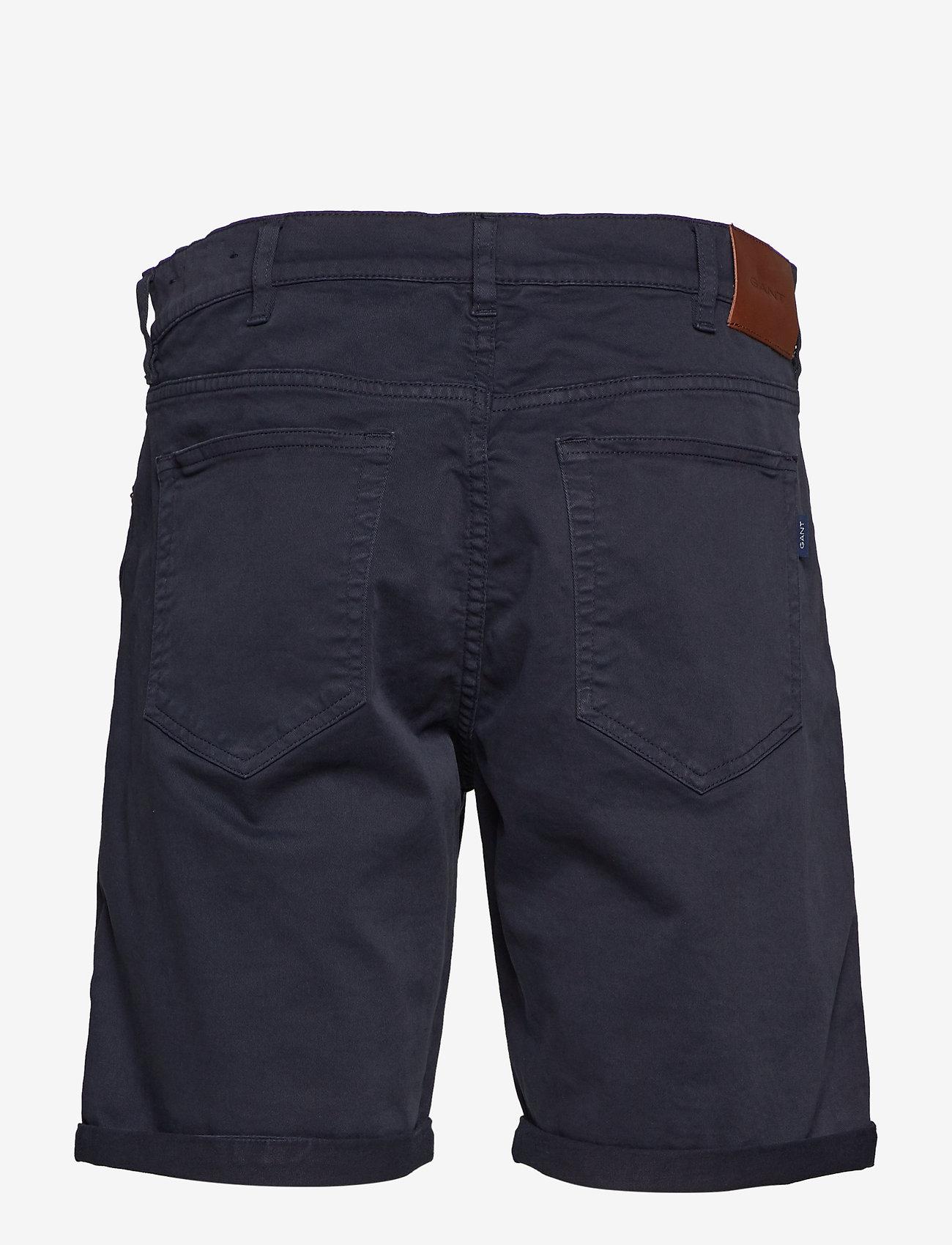 Gant - D1. REGULAR DESERT SHORTS - denim shorts - navy