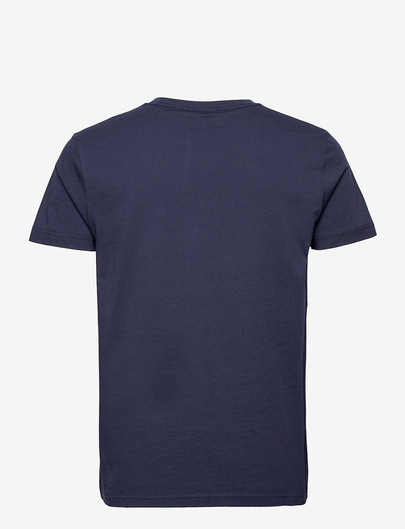 GANT - PRIDE. SS T-SHIRT - short-sleeved t-shirts - classic blue - 1