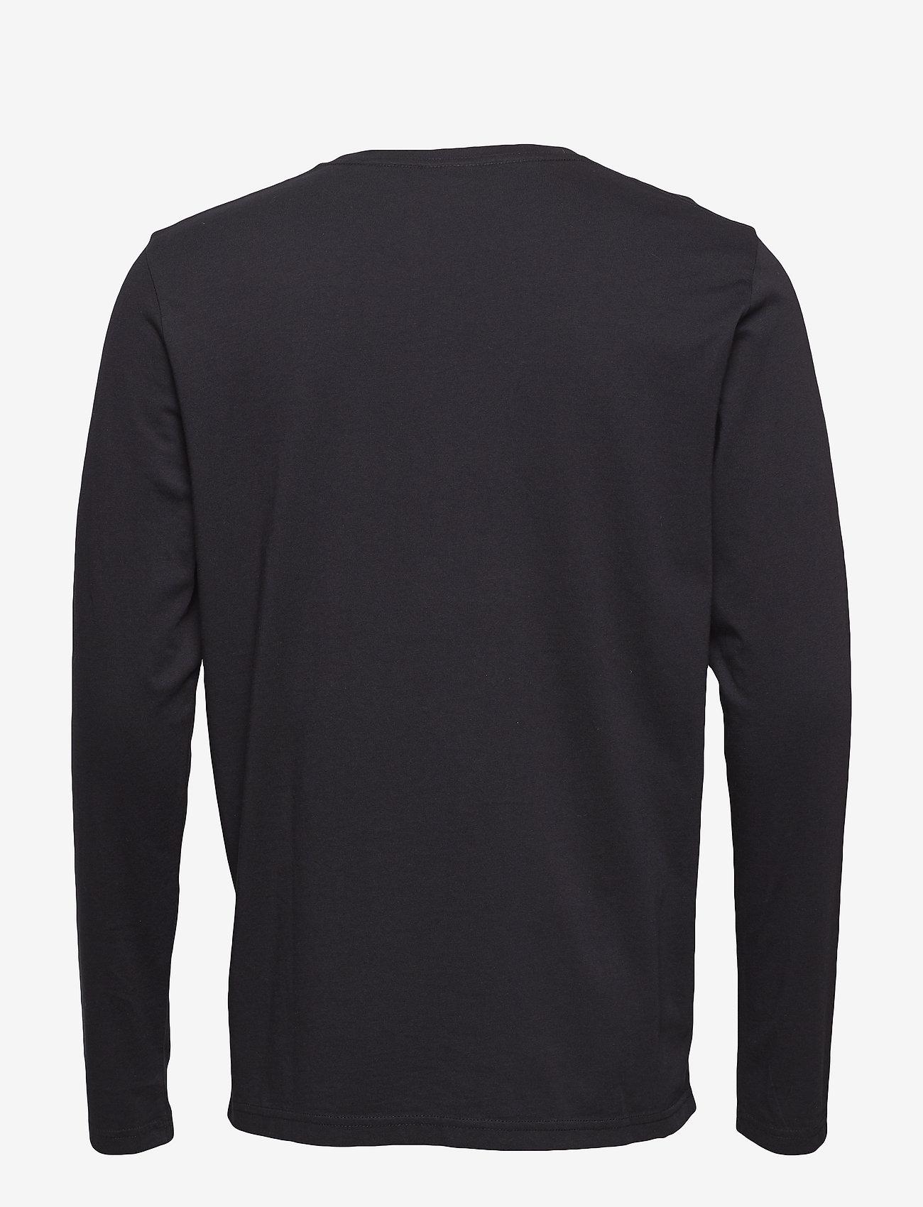 Shield Ls T-shirt (Black) (49.99 €) - GANT iXpQJ