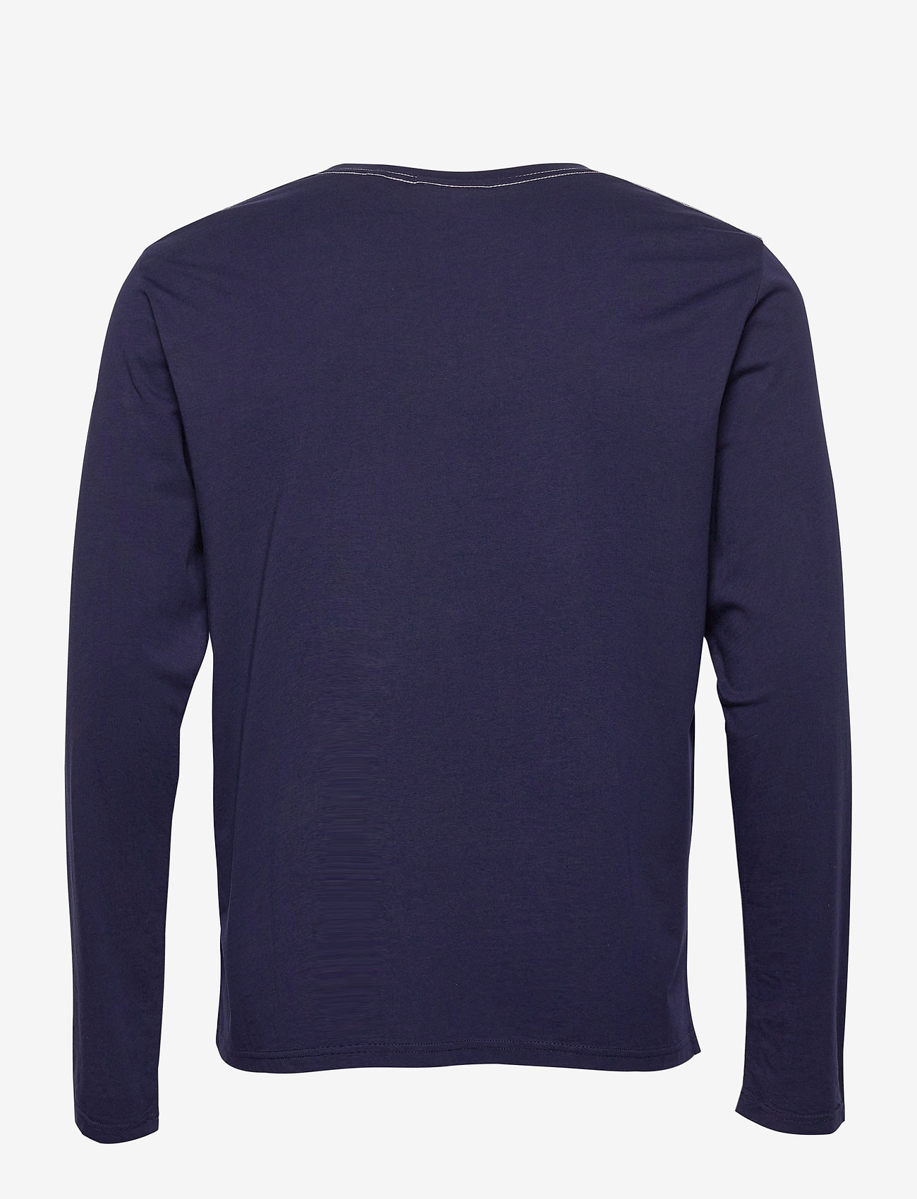 GANT ARCH OUTLINE LS T-SHIRT - T-skjorter EVENING BLUE - Menn Klær