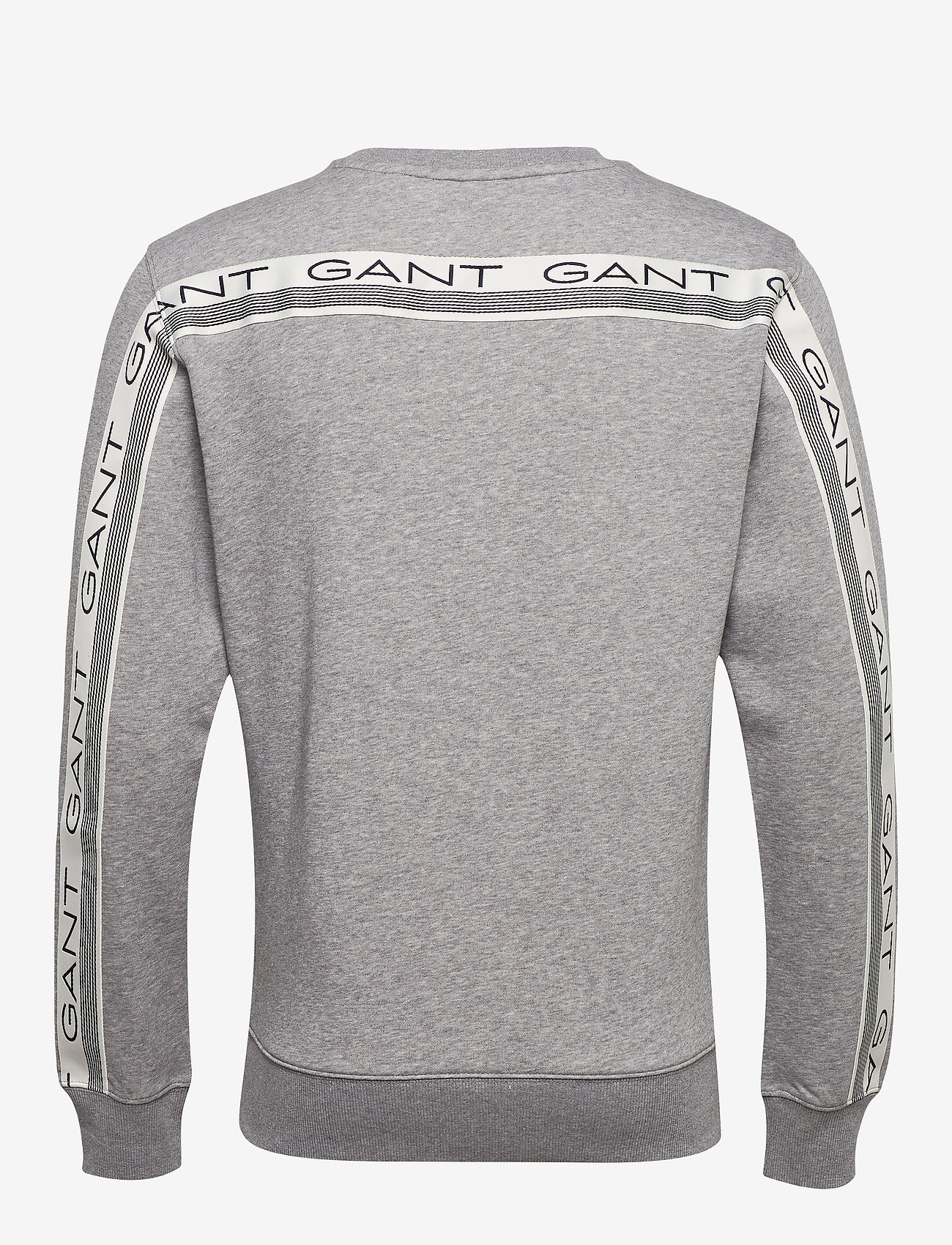 GANT D1. 13 STRIPES C-NECK SWEAT - Sweatshirts GREY MELANGE - Menn Klær