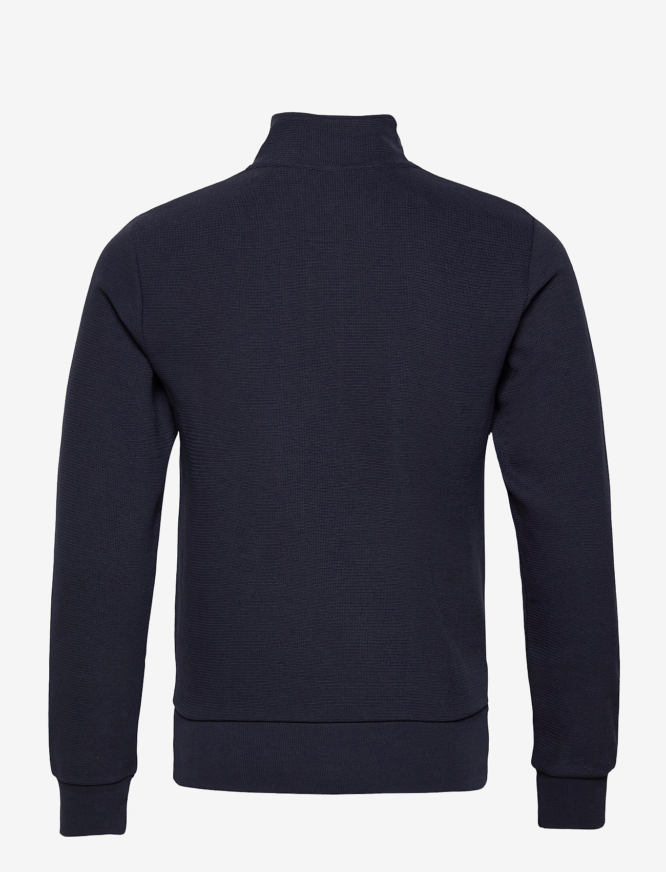 GANT - D2. STRUCTURE HALF ZIP - basic sweatshirts - evening blue - 1