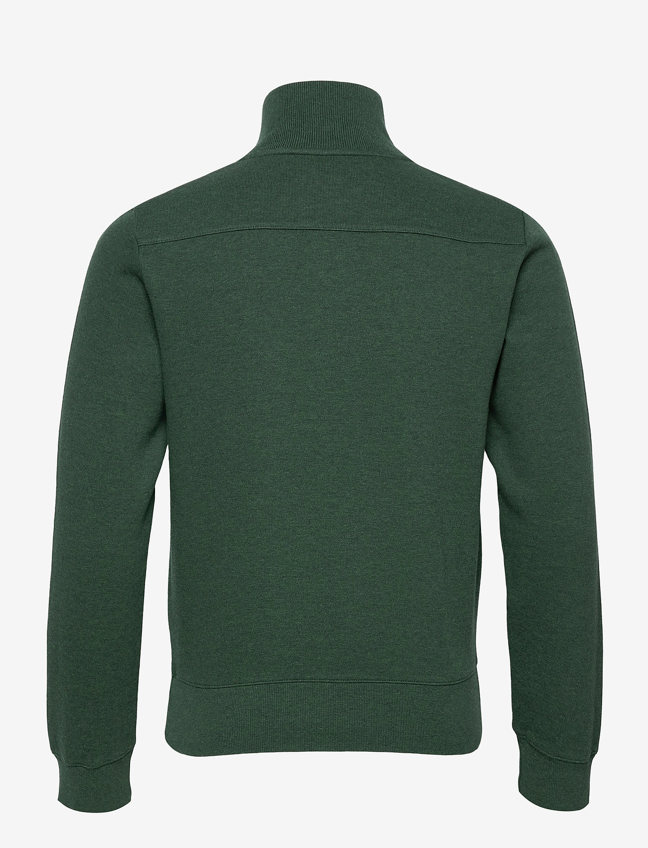 GANT - D2. SACKER RIB HALF ZIP - half zip jumpers - tartan green mel - 1