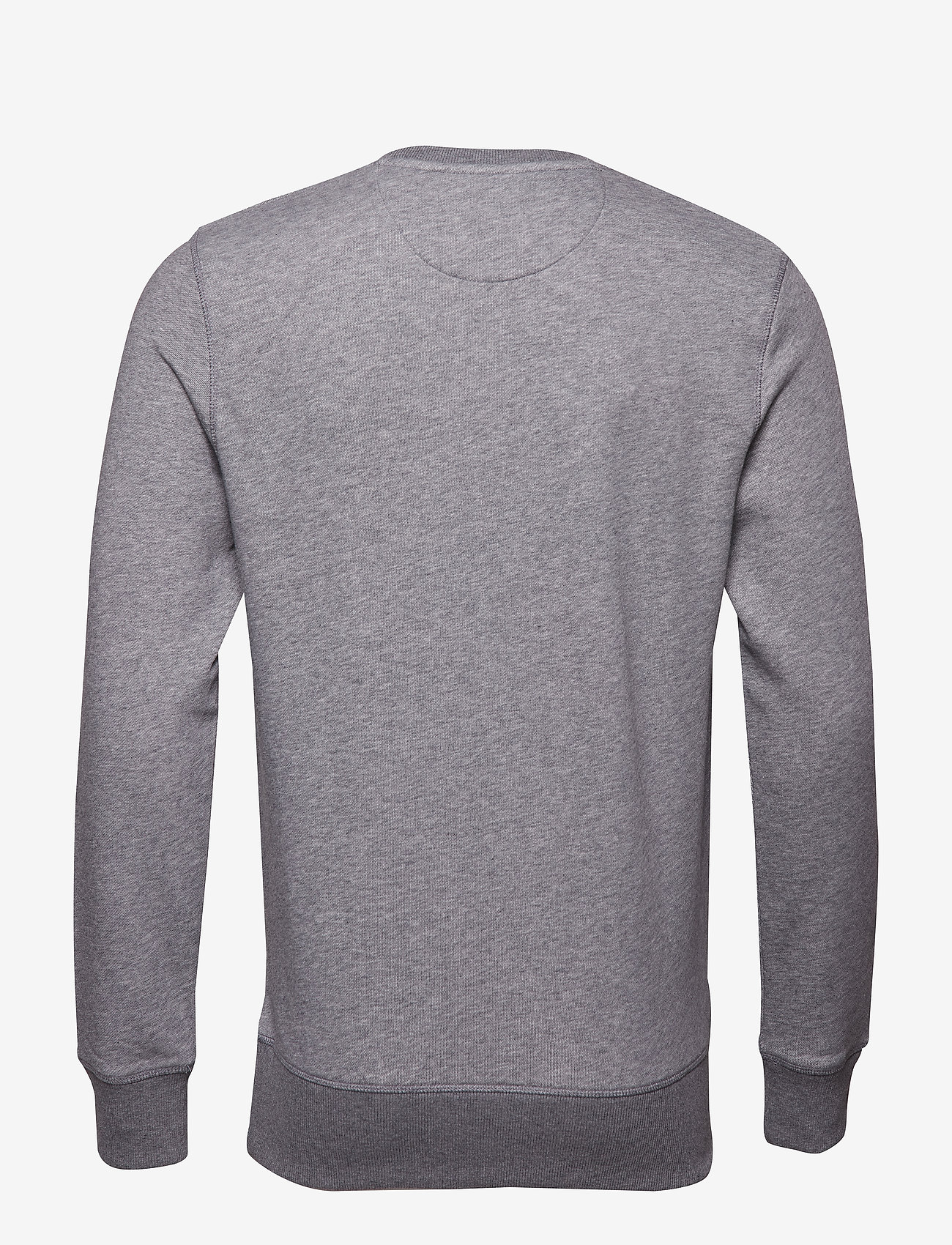 GANT - THE ORIGINAL C-NECK SWEAT - basic-sweatshirts - dark grey melange - 1