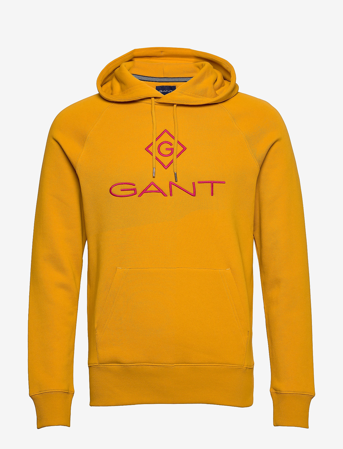 GANT - D1. COLOR LOCK UP HOODIE - hoodies - ivy gold - 0
