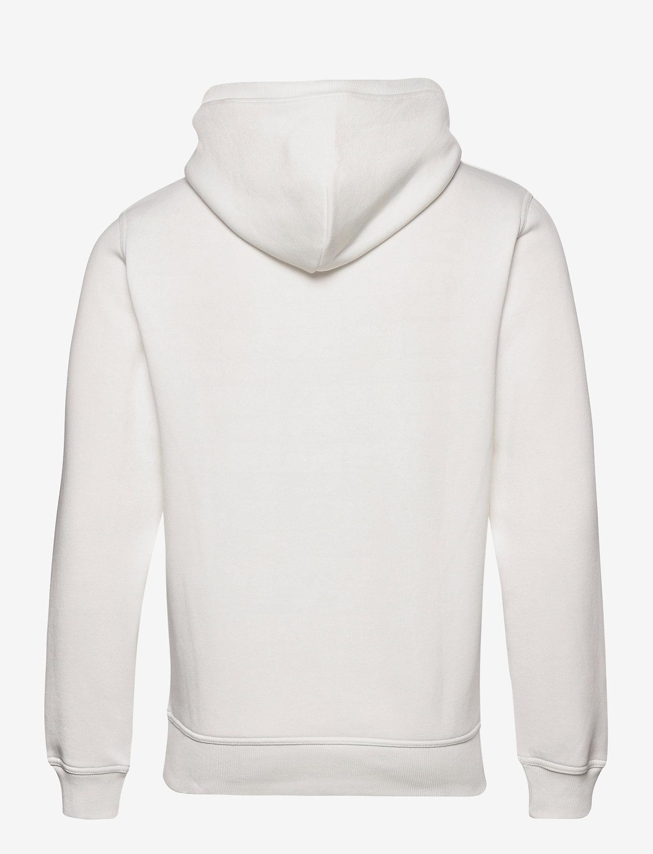 GANT - ARCHIVE SHIELD HOODIE - hoodies - eggshell - 1