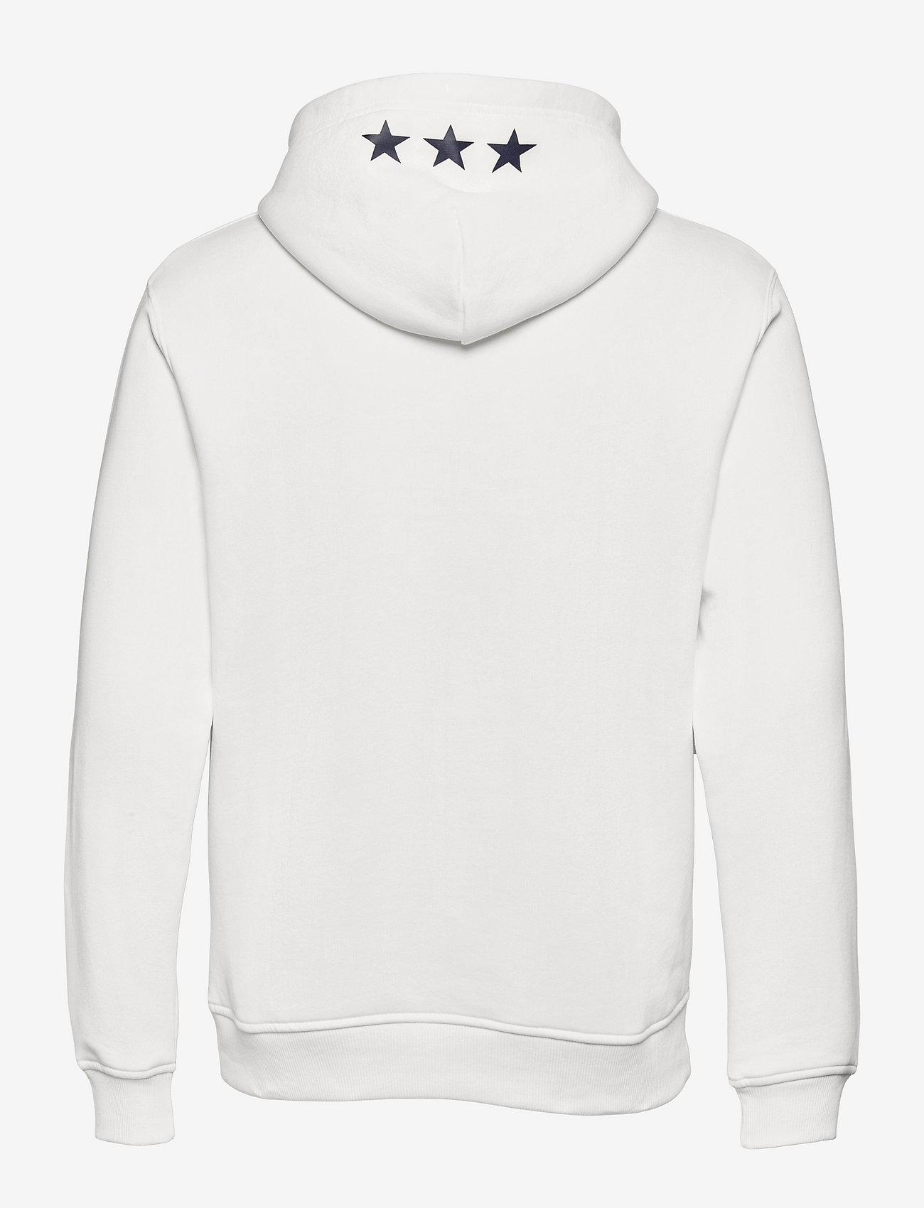 GANT - D2. GANT RETRO SHIELD SWEAT HOODIE - hoodies - eggshell - 1