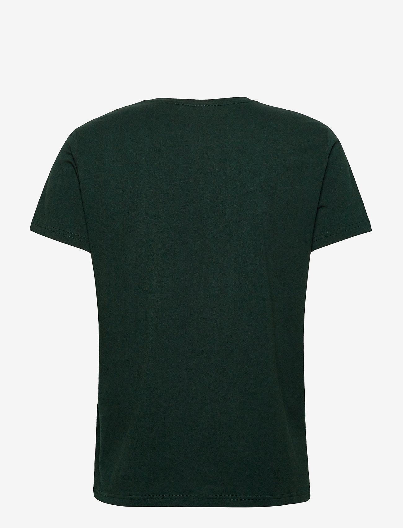 GANT - D1. MEDIUM SHIELD SS T-SHIRT - basic t-shirts - tartan green - 1