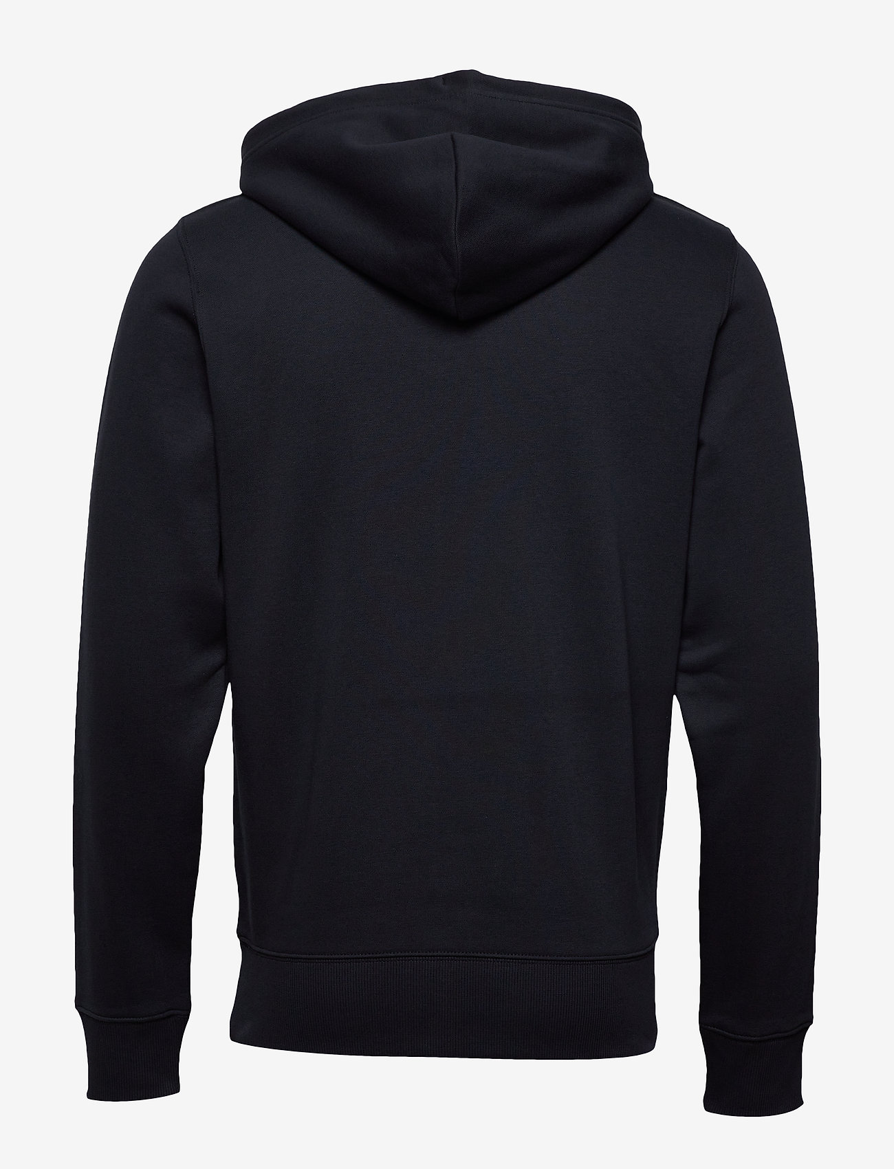 GANT - D1. MEDIUM SHIELD HOODIE - basic sweatshirts - black - 1