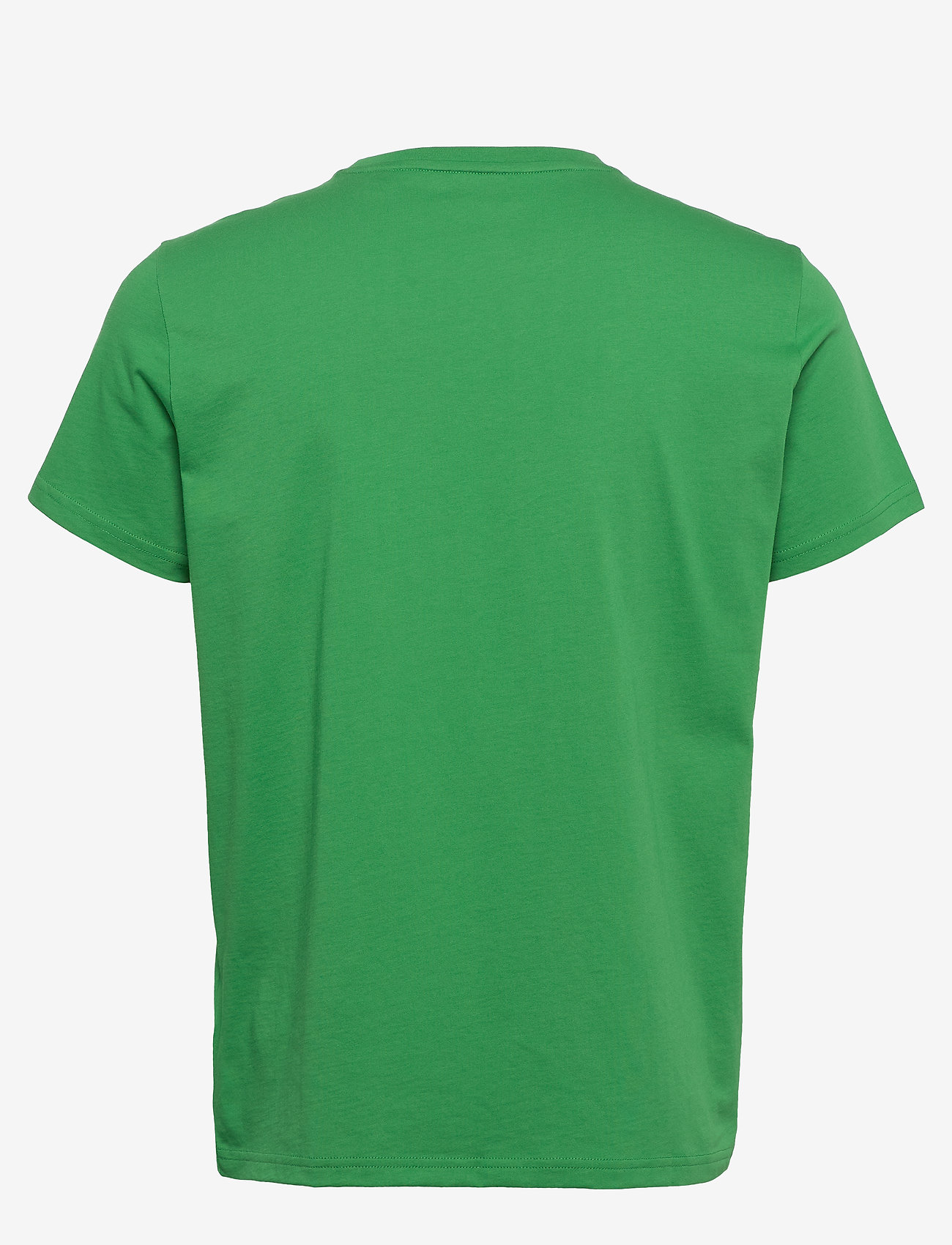 GANT - D1. COLOR LOCK UP SS T-SHIRT - short-sleeved t-shirts - amazon green - 1