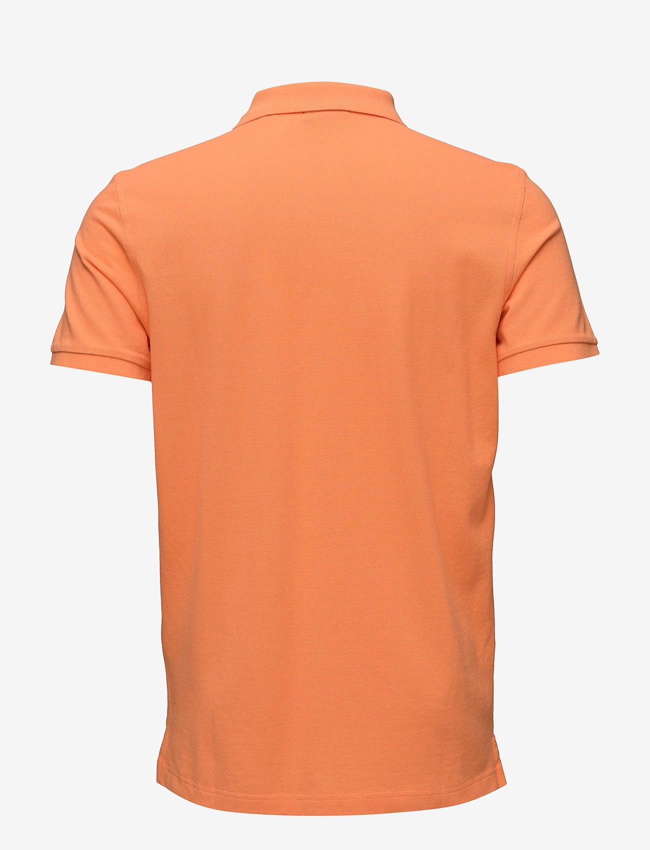 Gant - ORIGINAL PIQUE SS RUGGER - short-sleeved polos - carrot orange