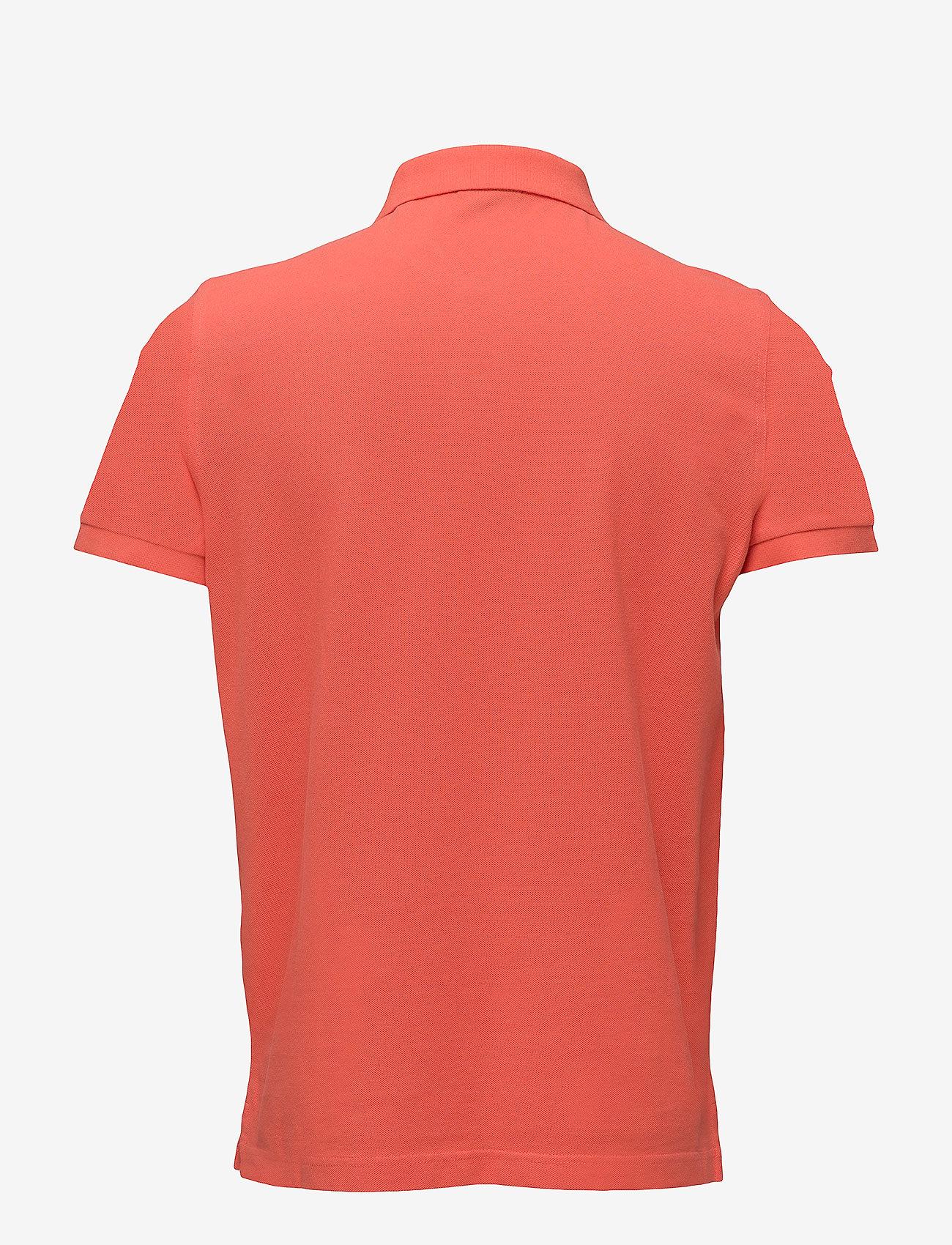 Gant - ORIGINAL PIQUE SS RUGGER - short-sleeved polos - strong coral
