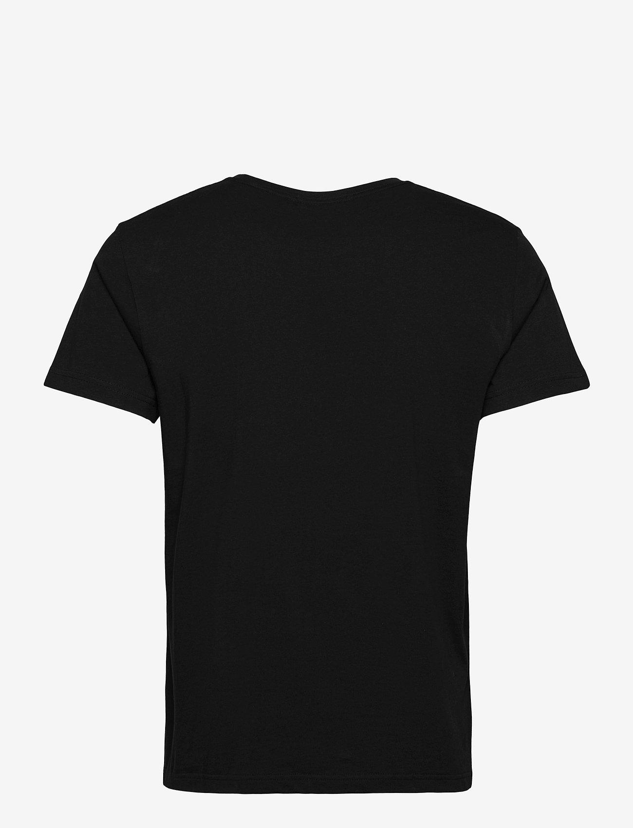 GANT - ORIGINAL SS T-SHIRT - short-sleeved t-shirts - black - 1