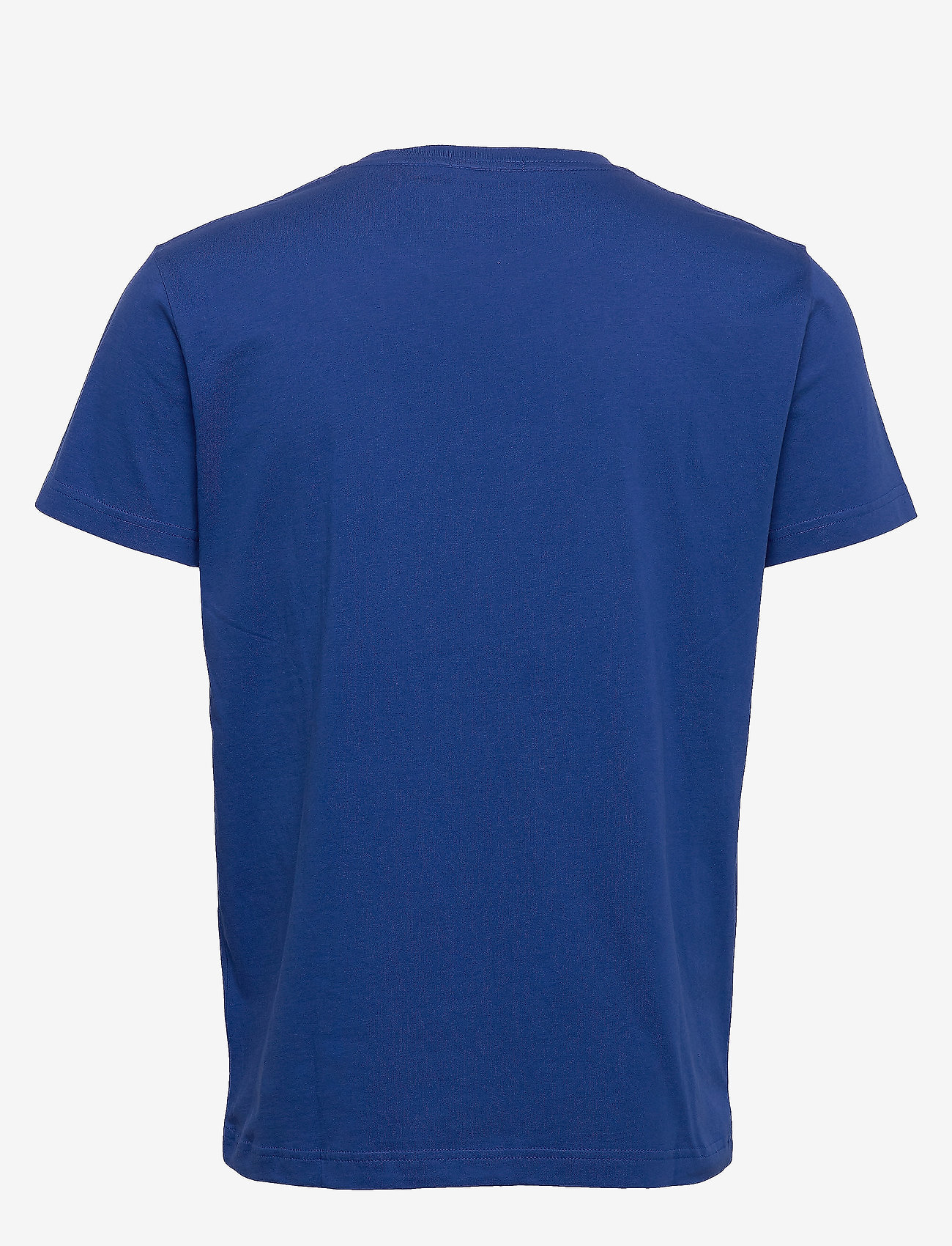 GANT - ORIGINAL SS T-SHIRT - short-sleeved t-shirts - crisp blue - 1