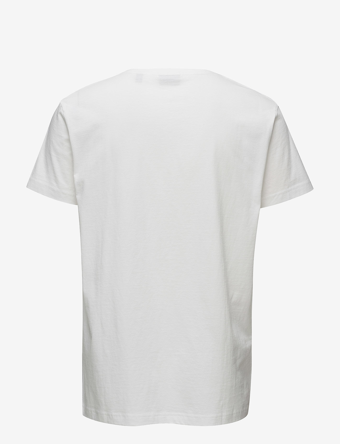 Gant - ORIGINAL SS T-SHIRT - kortermede t-skjorter - white - 1