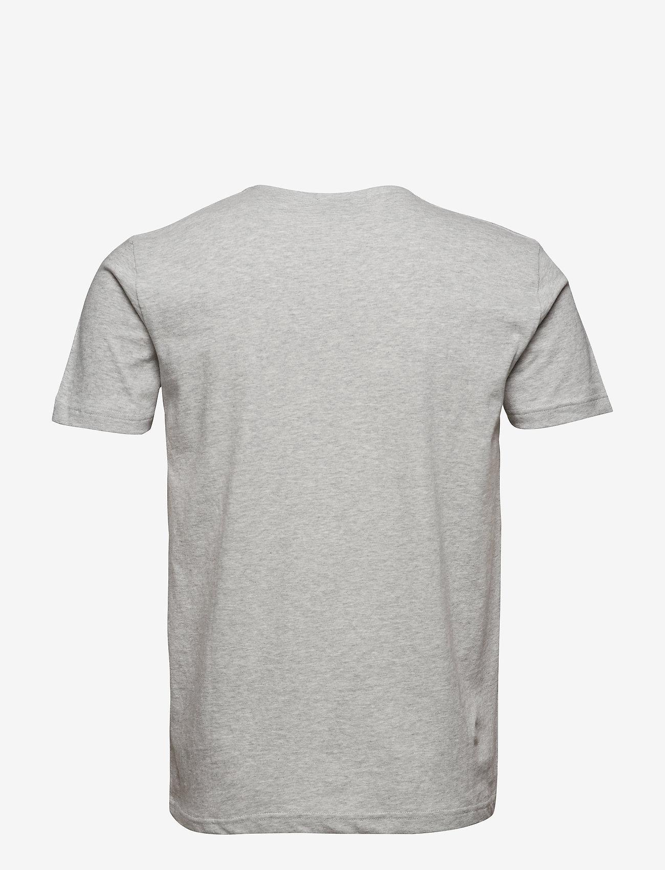 GANT - ORIGINAL SLIM T-SHIRT - basic t-shirts - light grey melange - 1