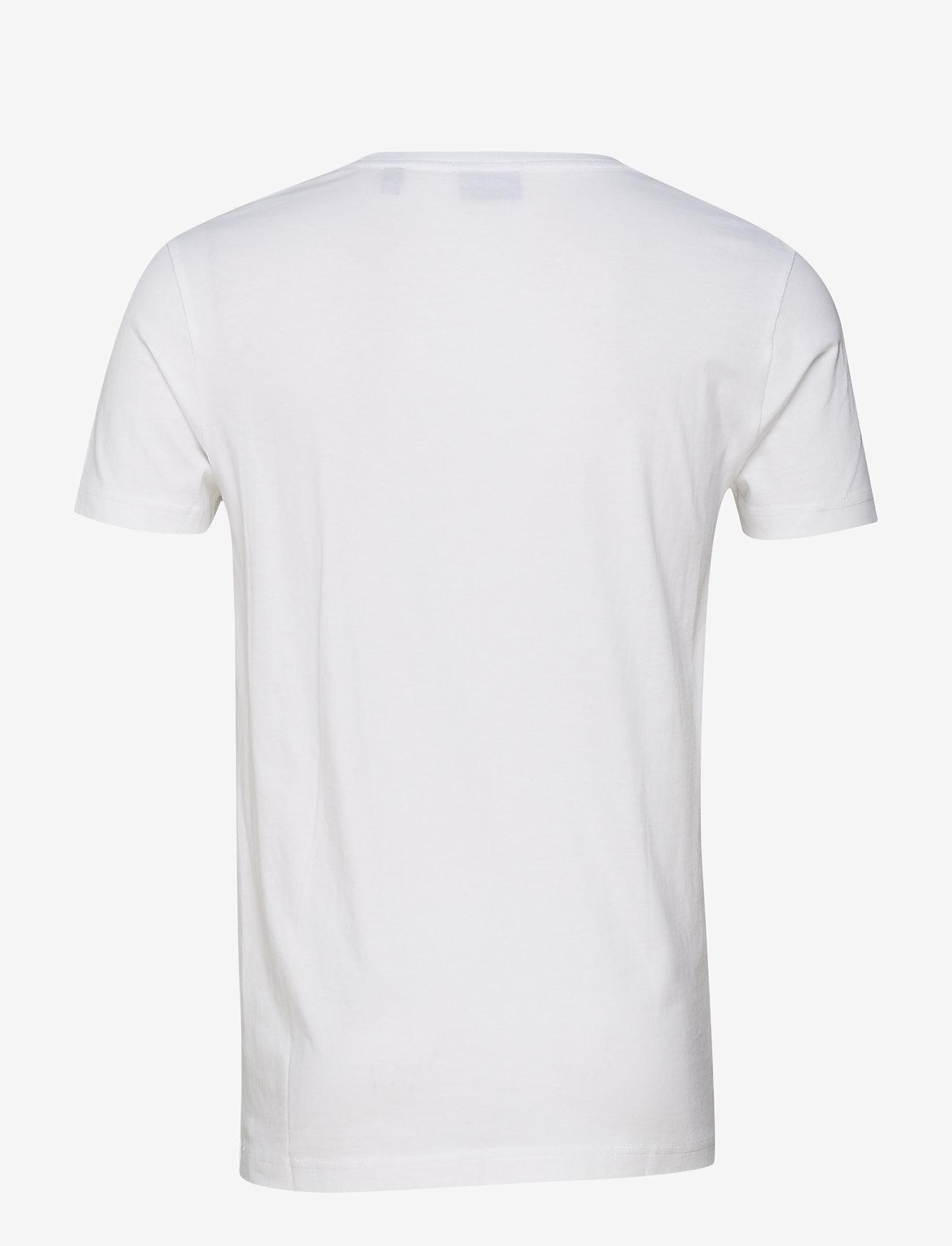 GANT - ORIGINAL SLIM T-SHIRT - basic t-shirts - white - 1
