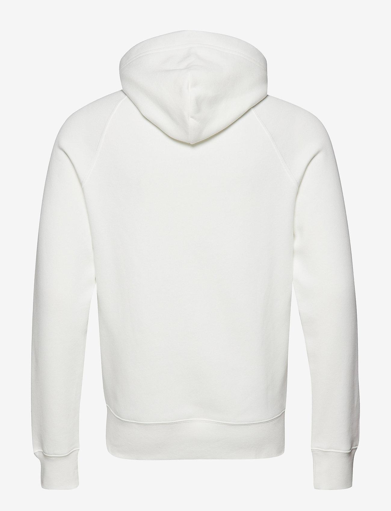 GANT - SHIELD HOODIE - hoodies - eggshell - 1