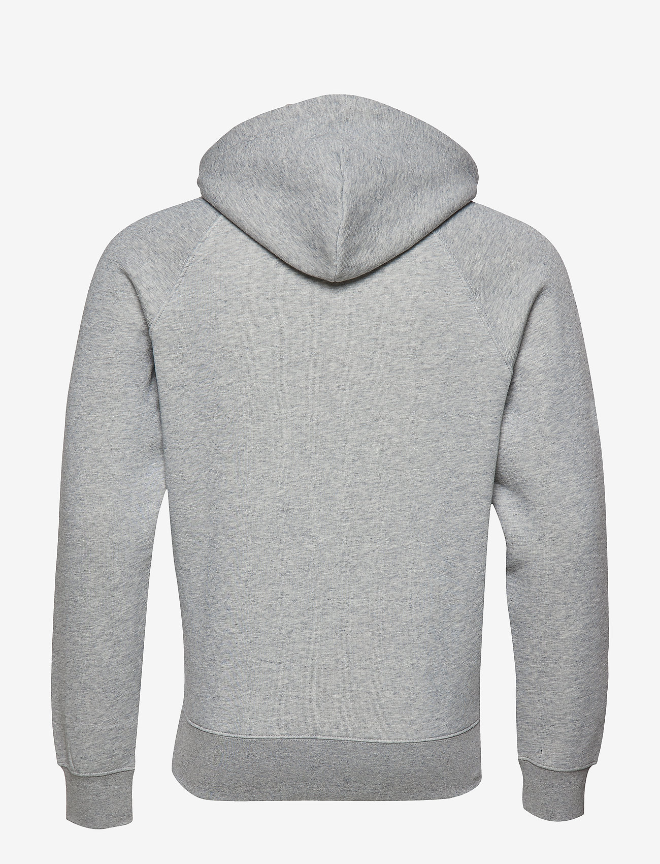 GANT - SHIELD HOODIE - kapuzenpullover - grey melange - 1