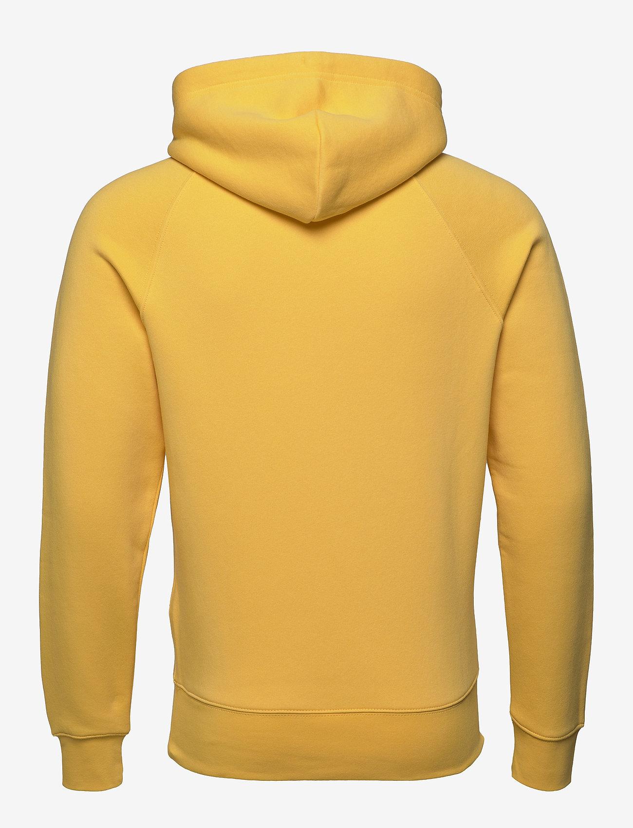 Gant - SHIELD HOODIE - hoodies - mimosa yellow