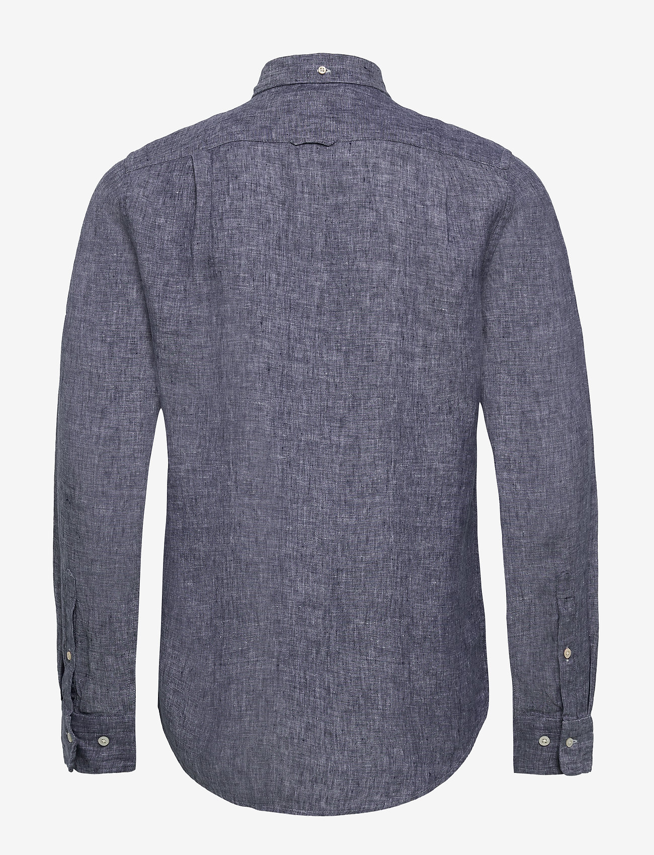 Gant - THE LINEN SHIRT SLIM BD - chemises basiques - persian blue