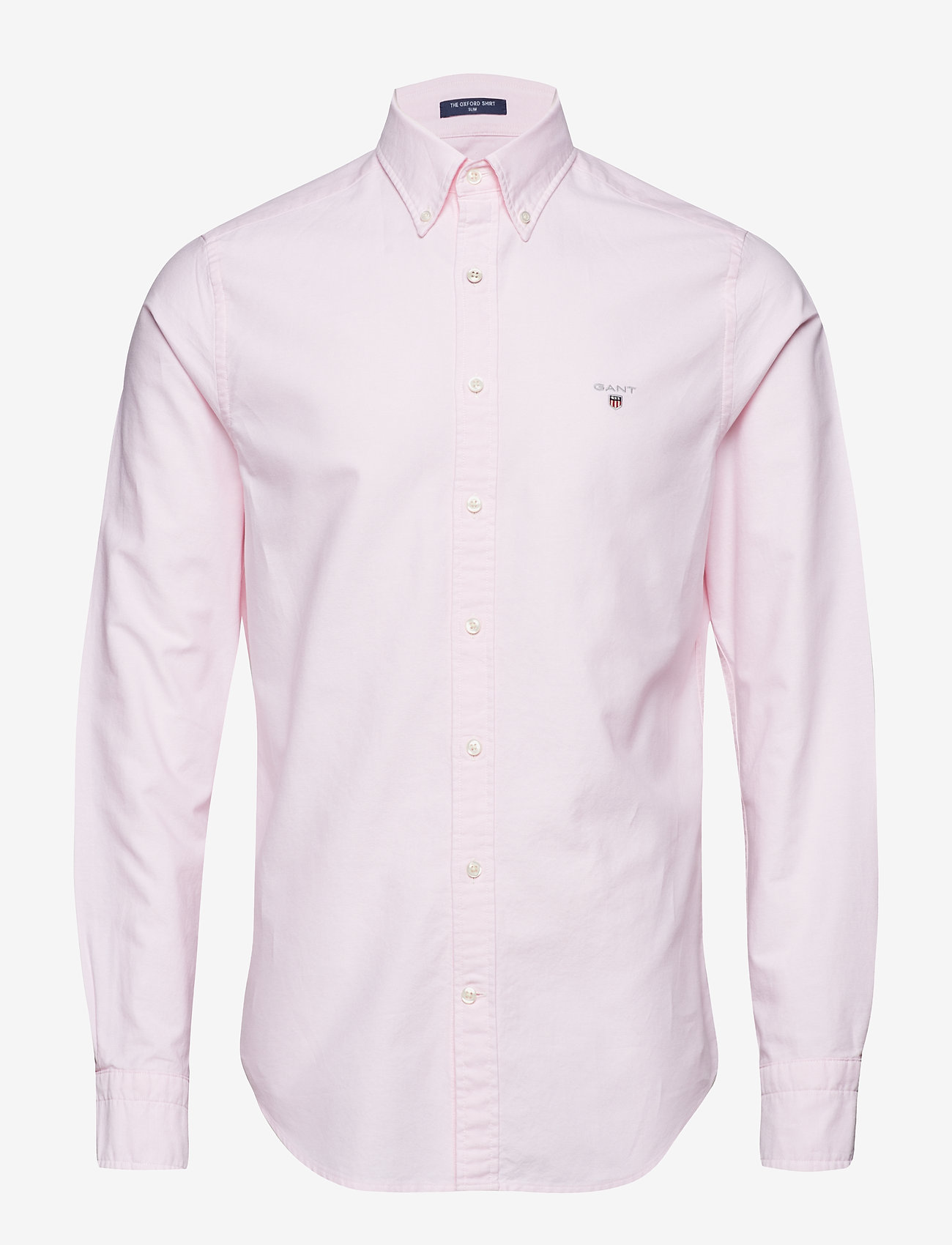 Gant - SLIM OXFORD SHIRT BD - basic shirts - light pink