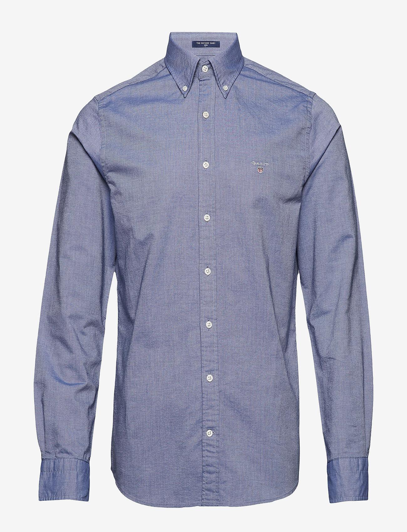 GANT - SLIM OXFORD SHIRT BD - basic shirts - persian blue - 0