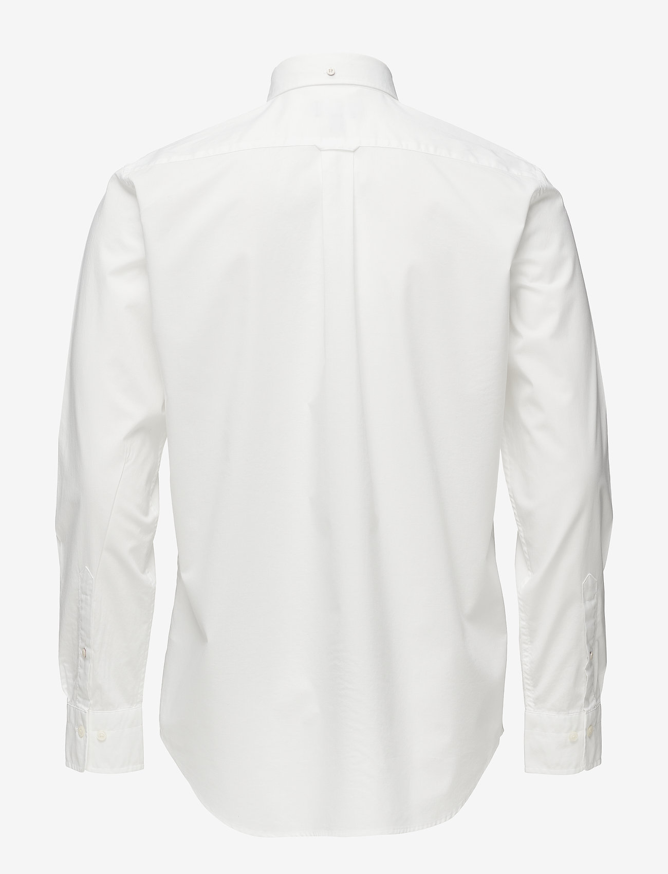 GANT - REG BROADCLOTH BD - oxford shirts - white - 1