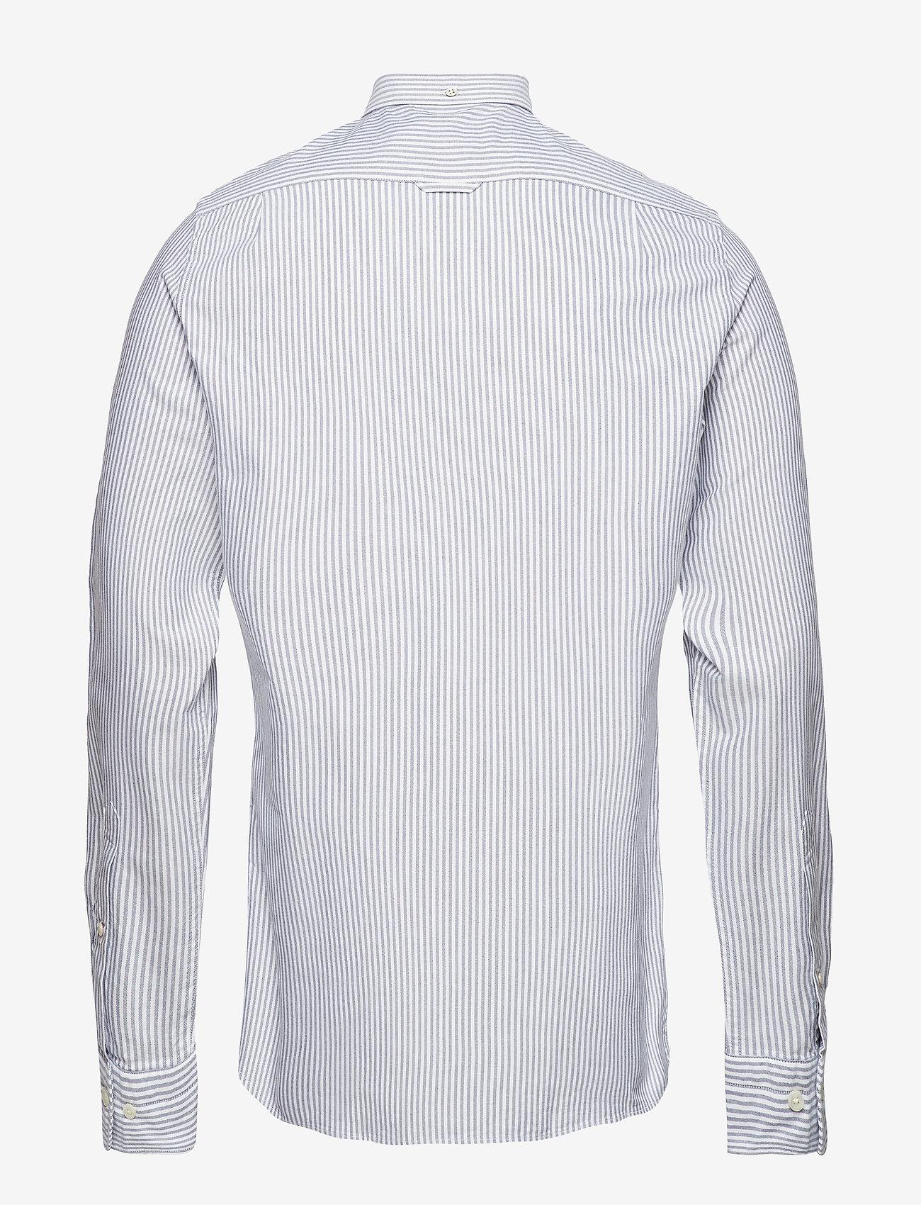 GANT SLIM OXFORD BANKER BD - Skjorter PERSIAN BLUE - Menn Klær