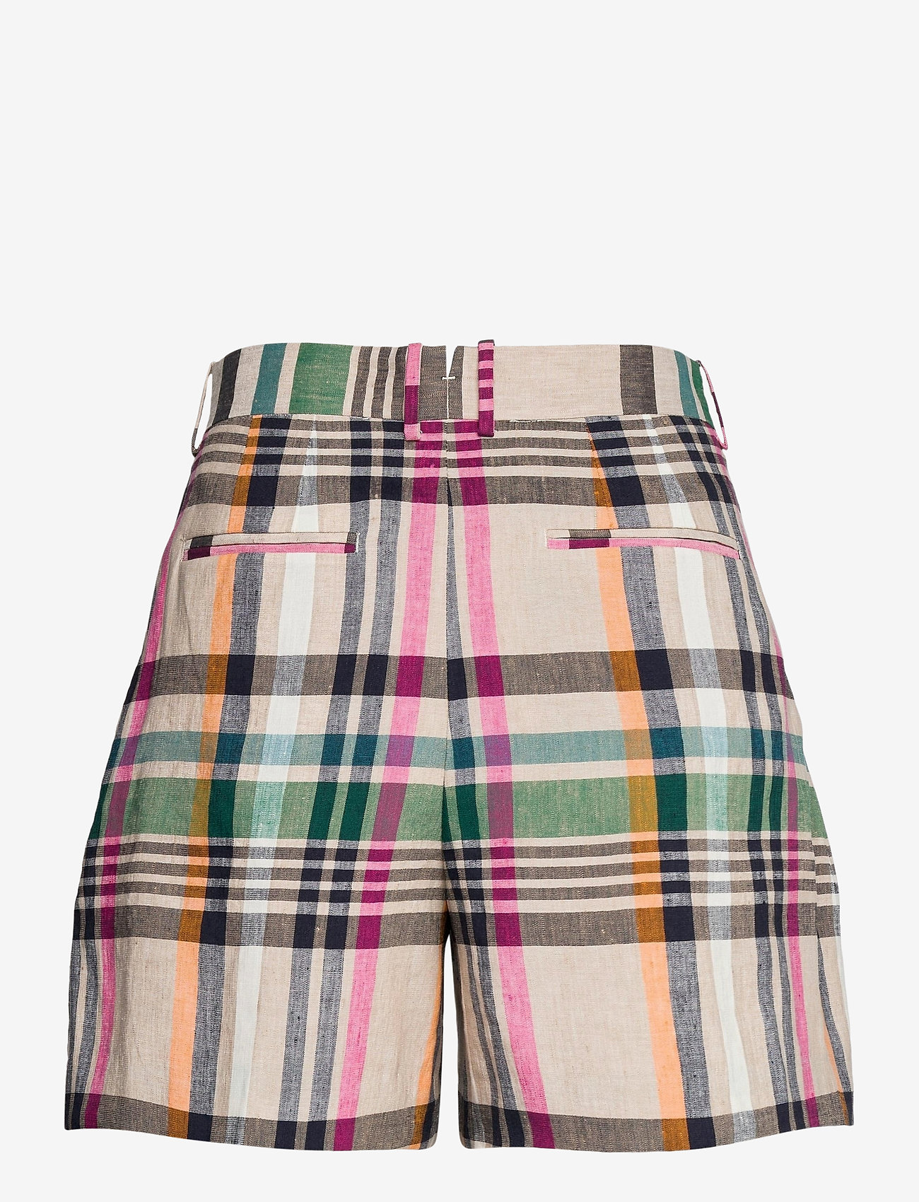 GANT - D2. CHECKED TAILORED SHORTS - shorts casual - dry sand - 1