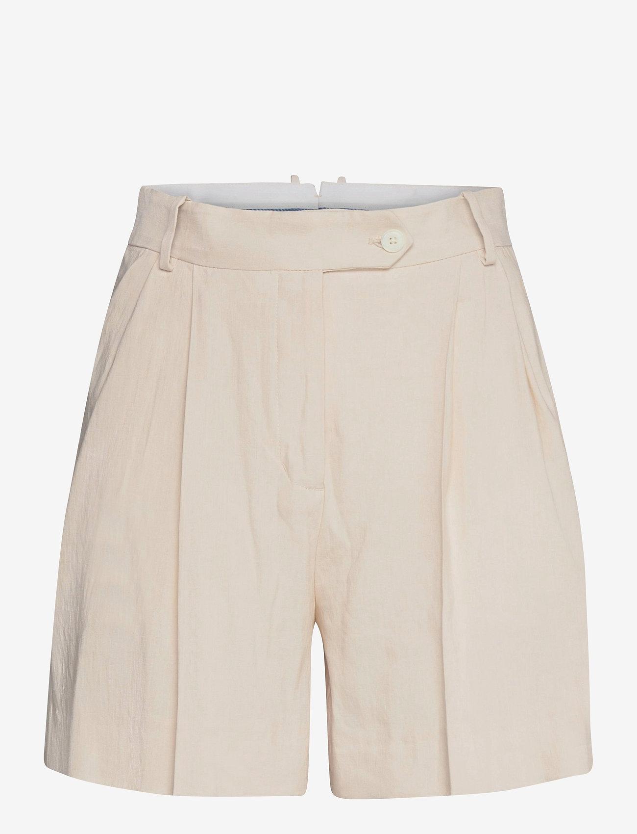 GANT - D2. STRETCH LINEN SHORTS - chino shorts - putty - 0