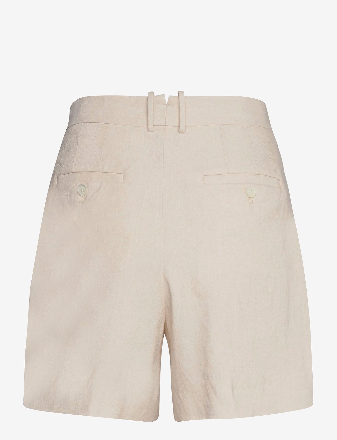 GANT - D2. STRETCH LINEN SHORTS - chino shorts - putty - 1