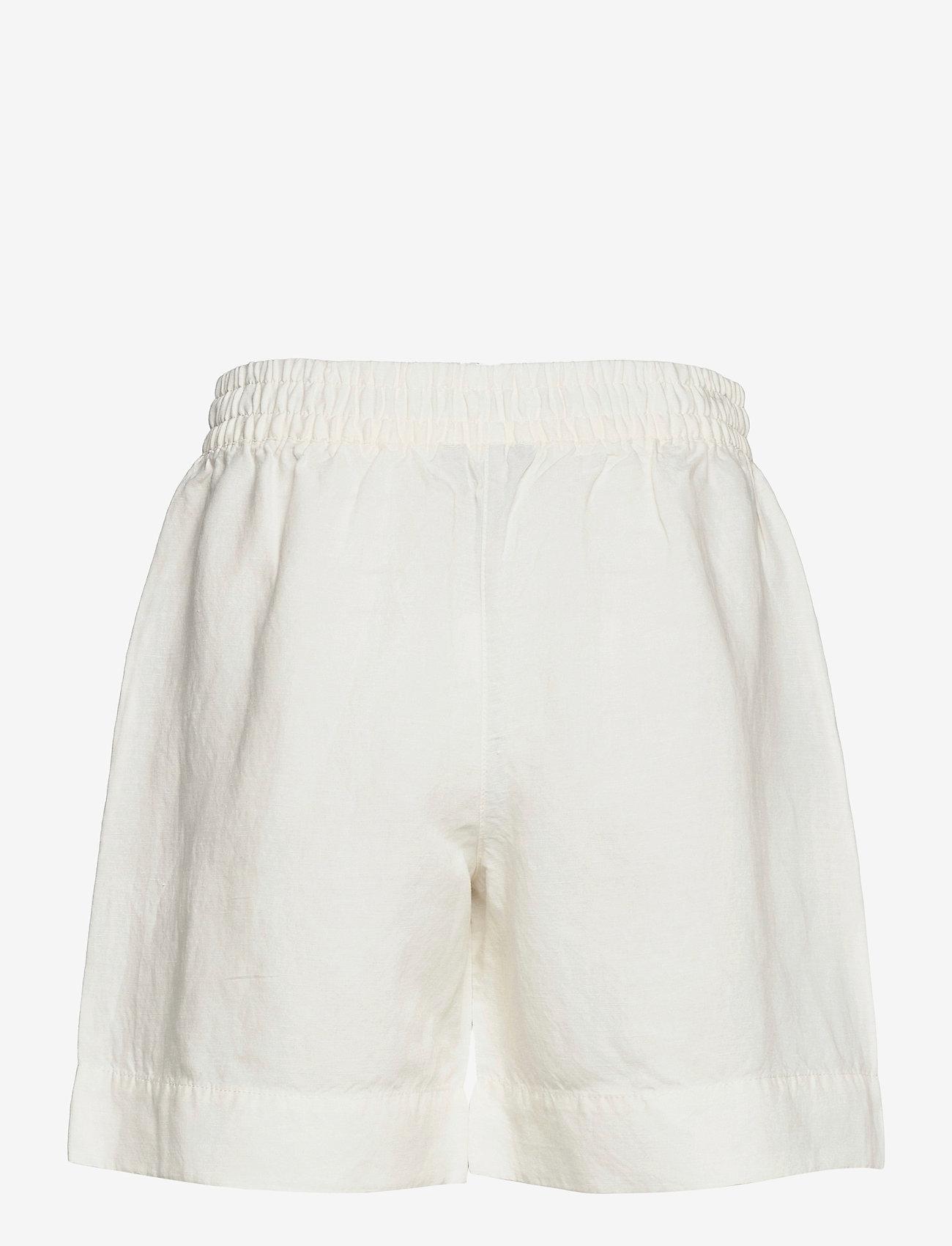 GANT - D2. SUMMER LINEN SHORTS - shorts casual - eggshell - 1