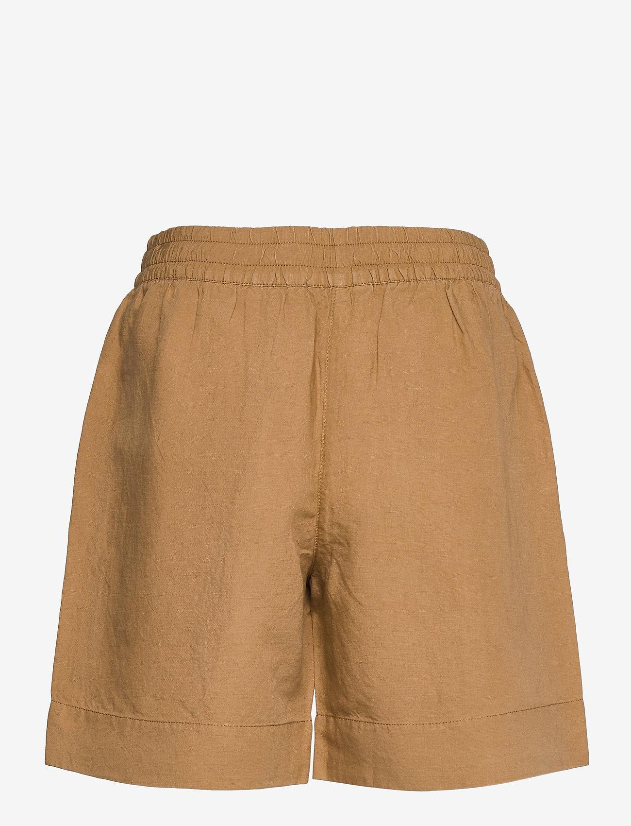 GANT - D2. SUMMER LINEN SHORTS - shorts casual - warm khaki - 1
