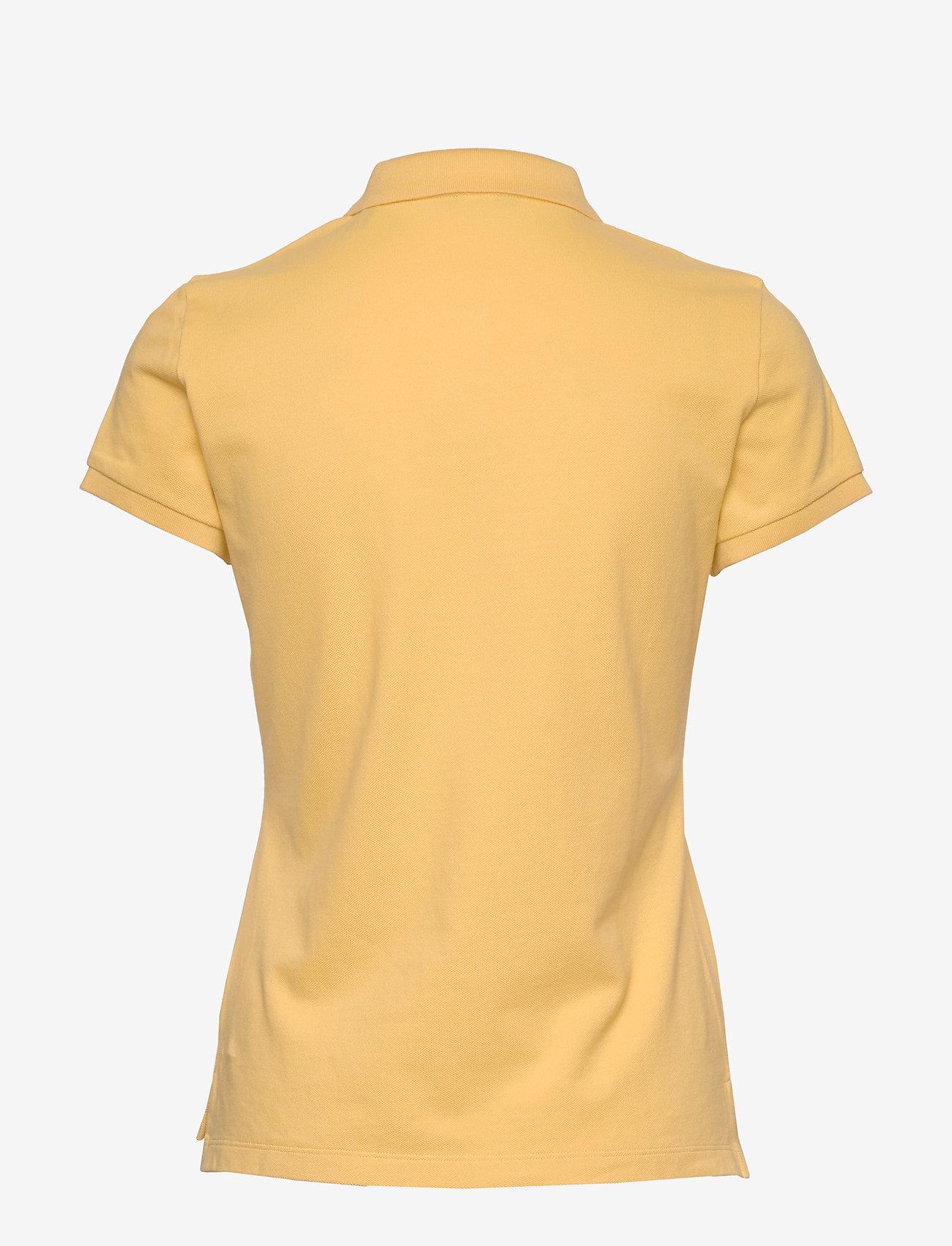 Gant - ORIGINAL SS PIQUE - pikéer - mimosa yellow